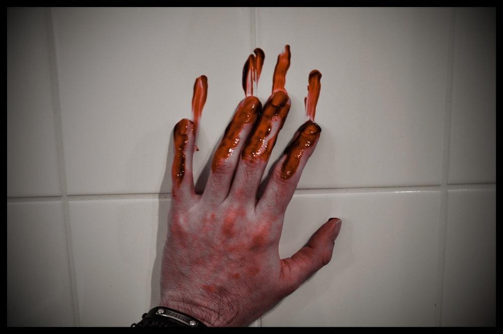 Photo in Urban #urban #darkness #horror #hand #blood #austria #haunting
