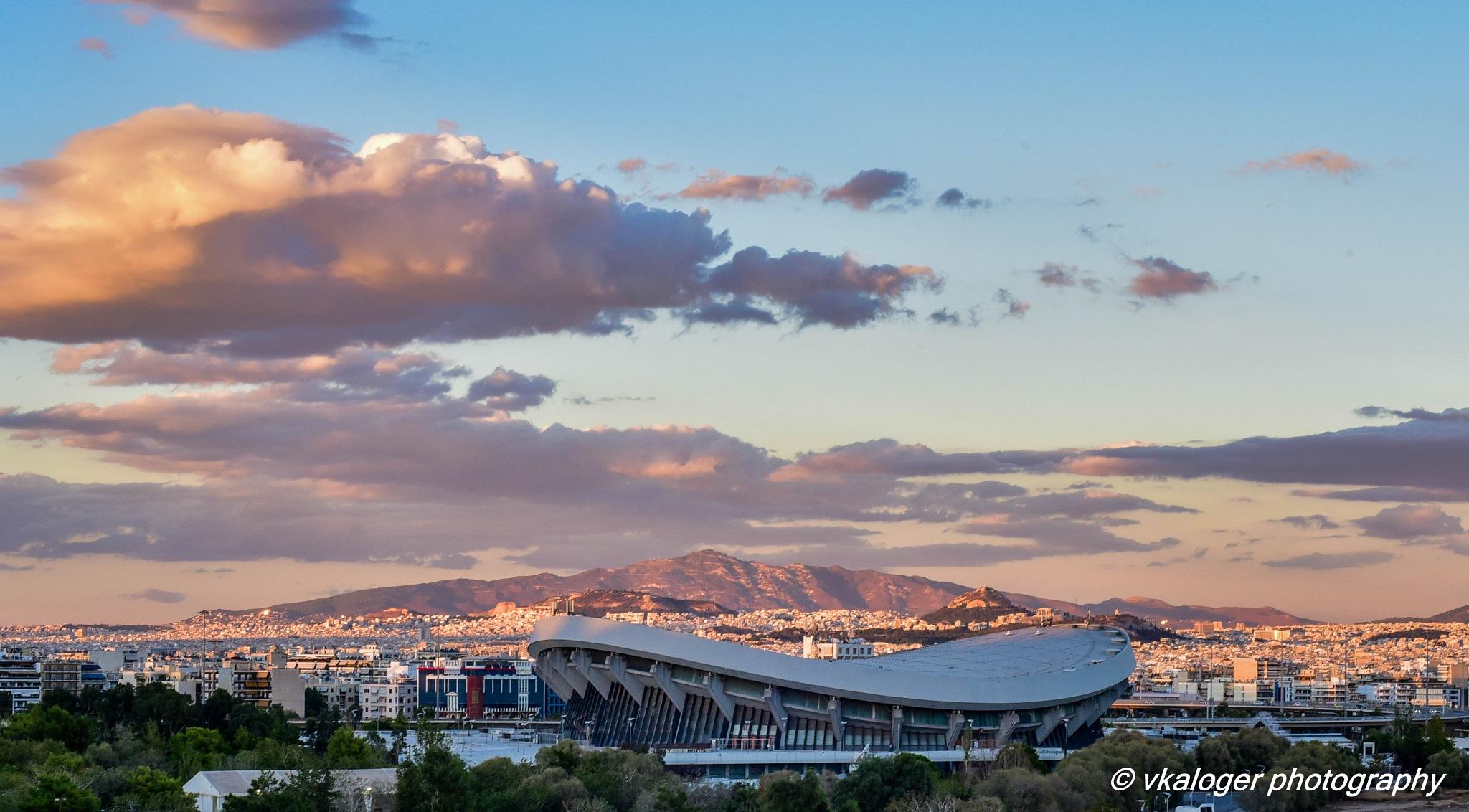 Stadium Peace and Frienship by Vasilis Kalogeropoulos