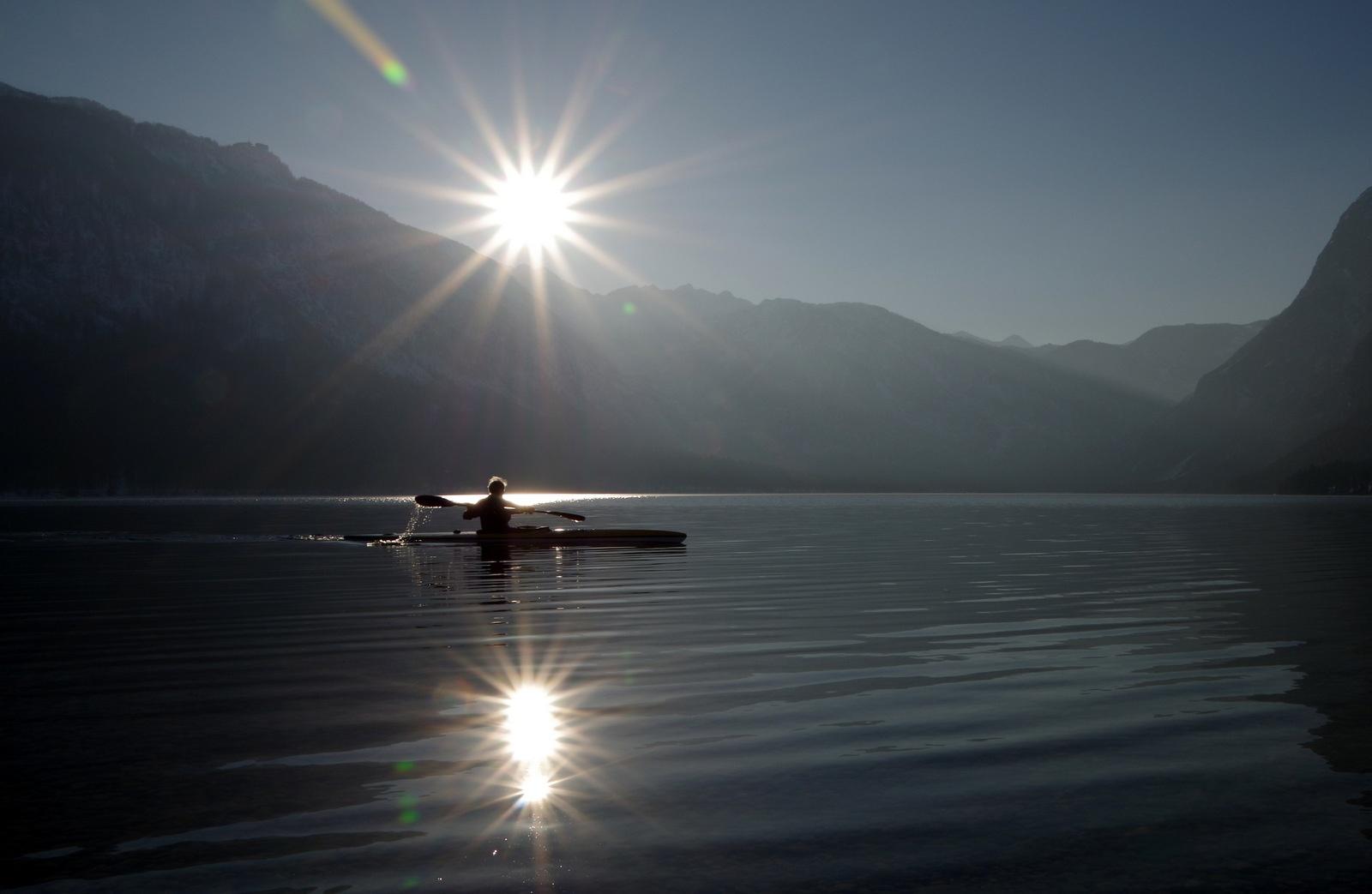 Bohinj lake by Donat Piber