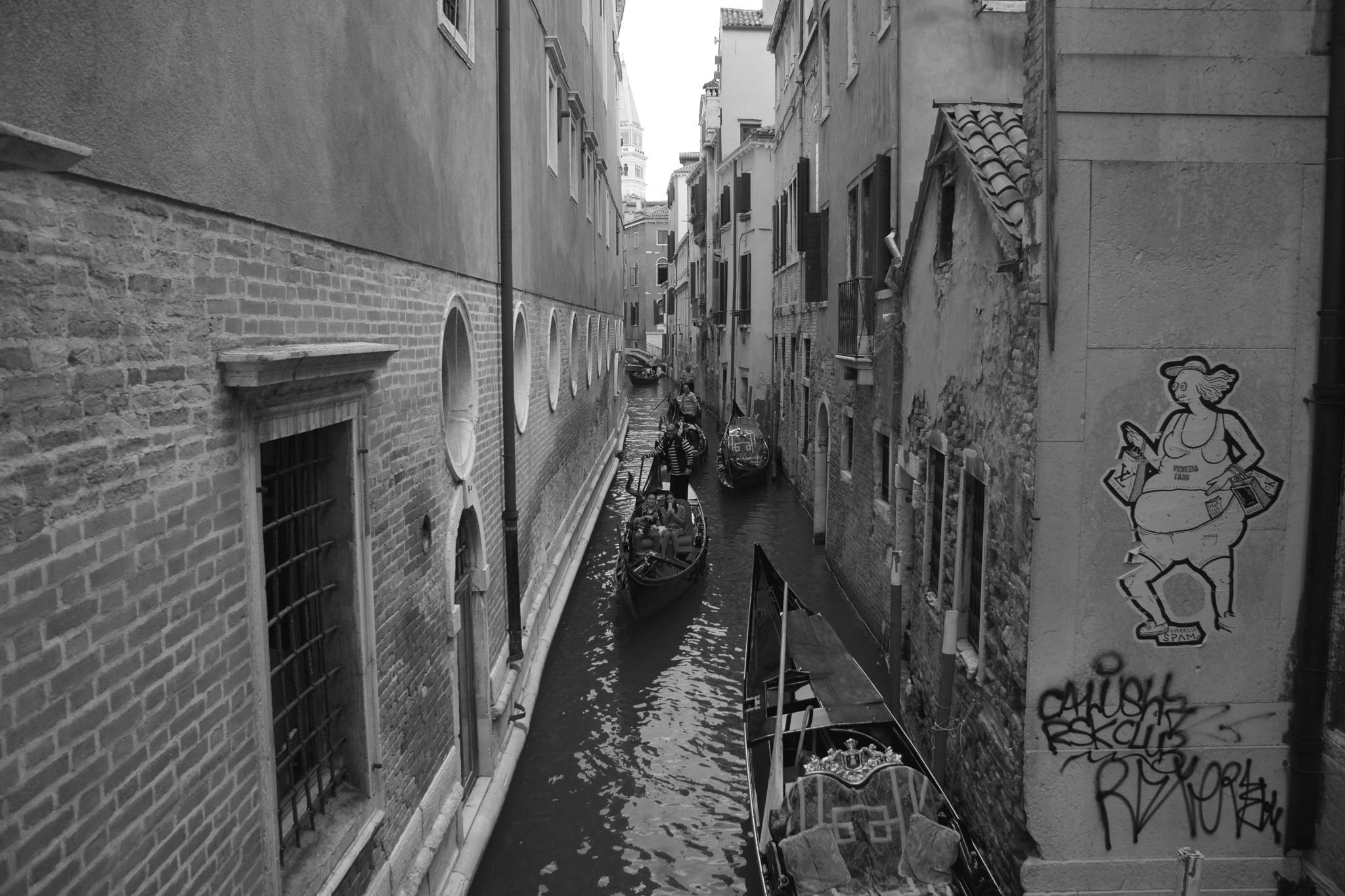 Traffic jam in Venice by nealmcveagh