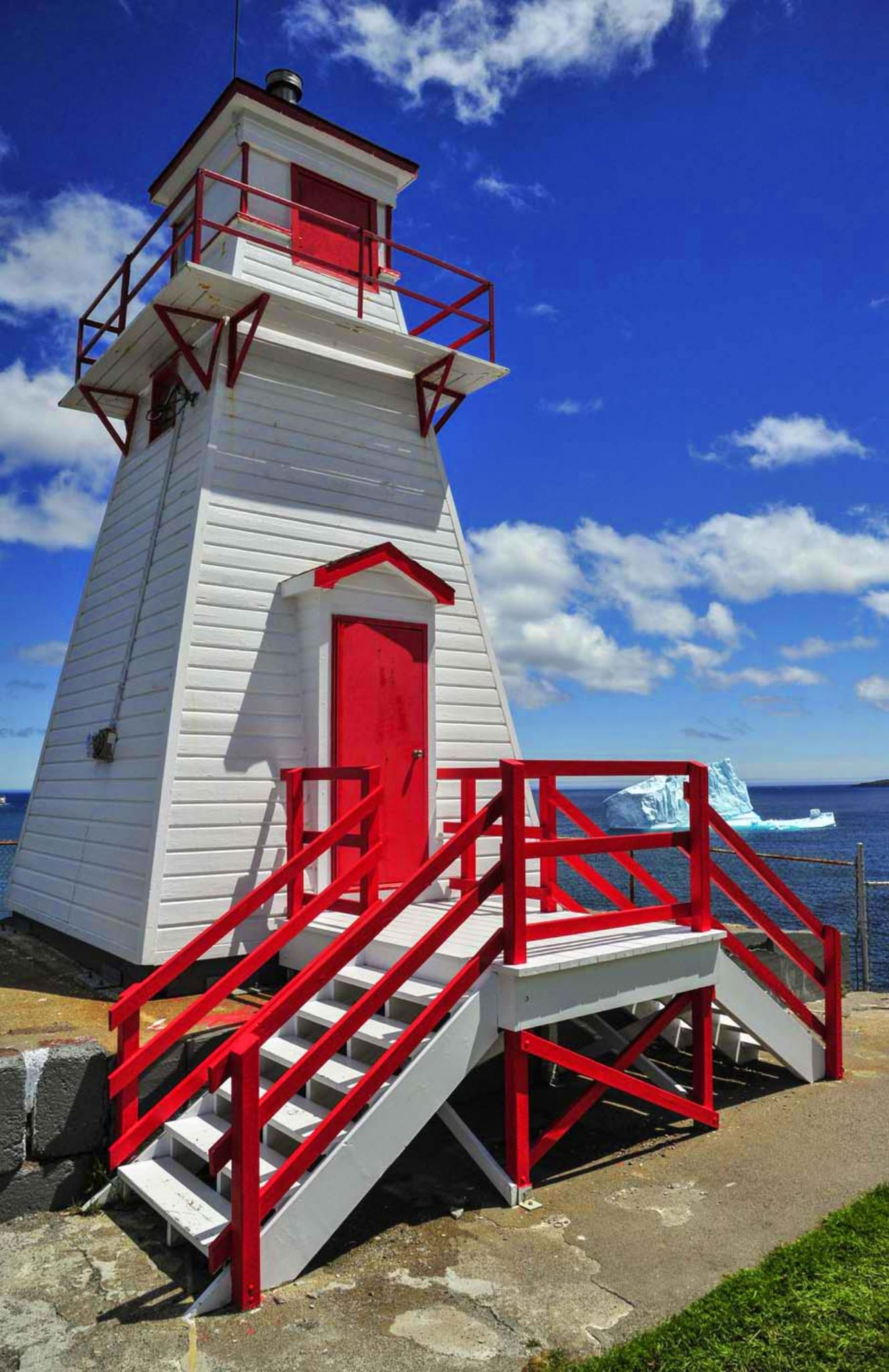 C_COR4402: Fort Amherst Lighthouse, St. John's, NL by Cyril1