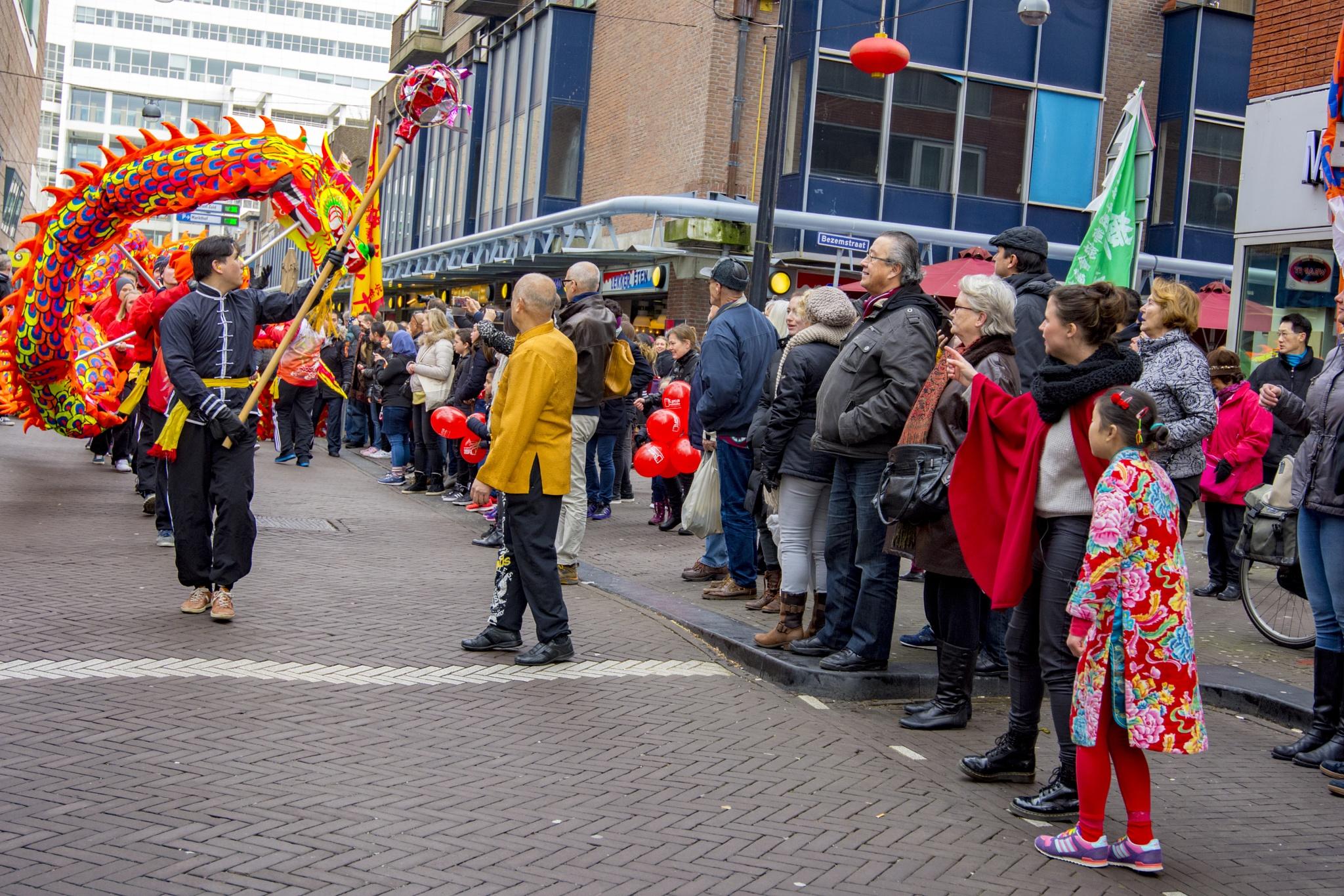 Chinees Nieuwjaar viering in Den Haag  by ricsas90
