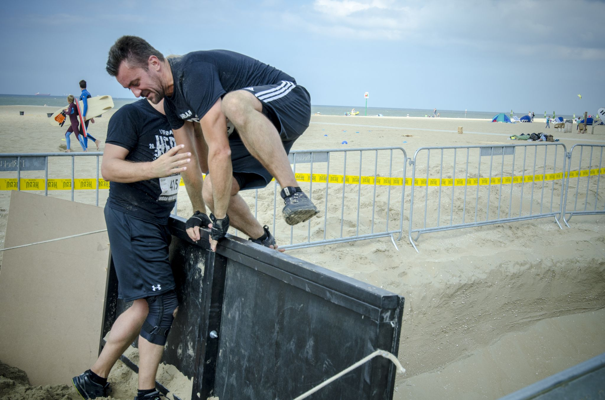 Urban Hero Obstacle Run Scheveningen  by ricsas90