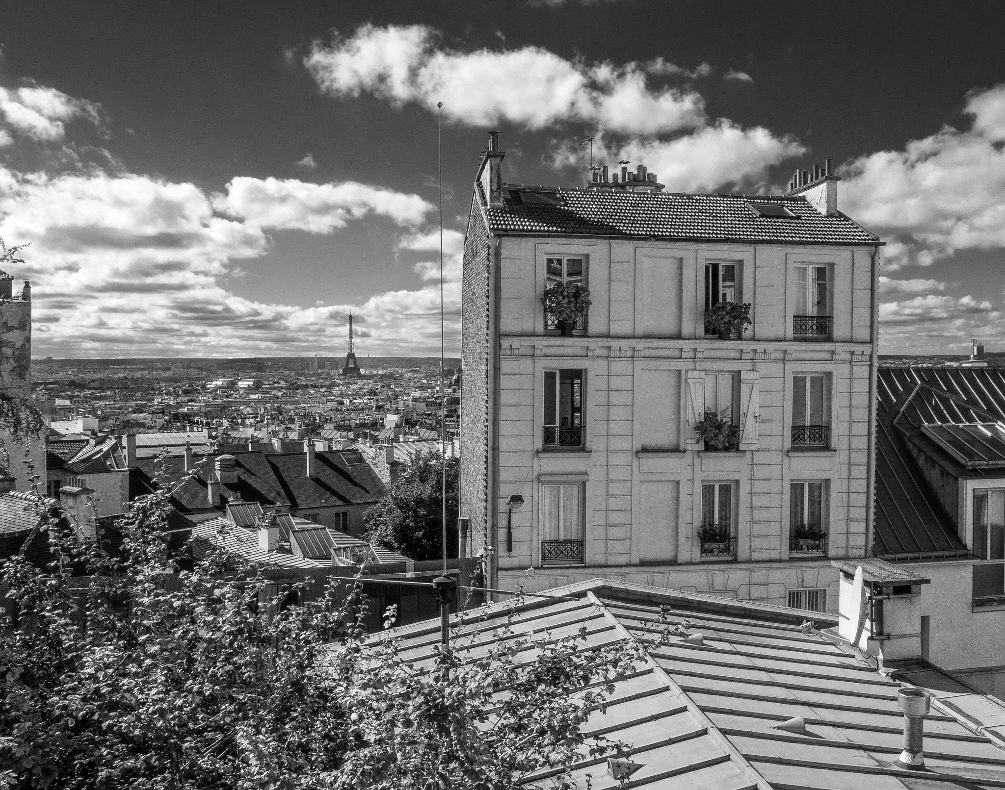 View from apartment by BradSchade