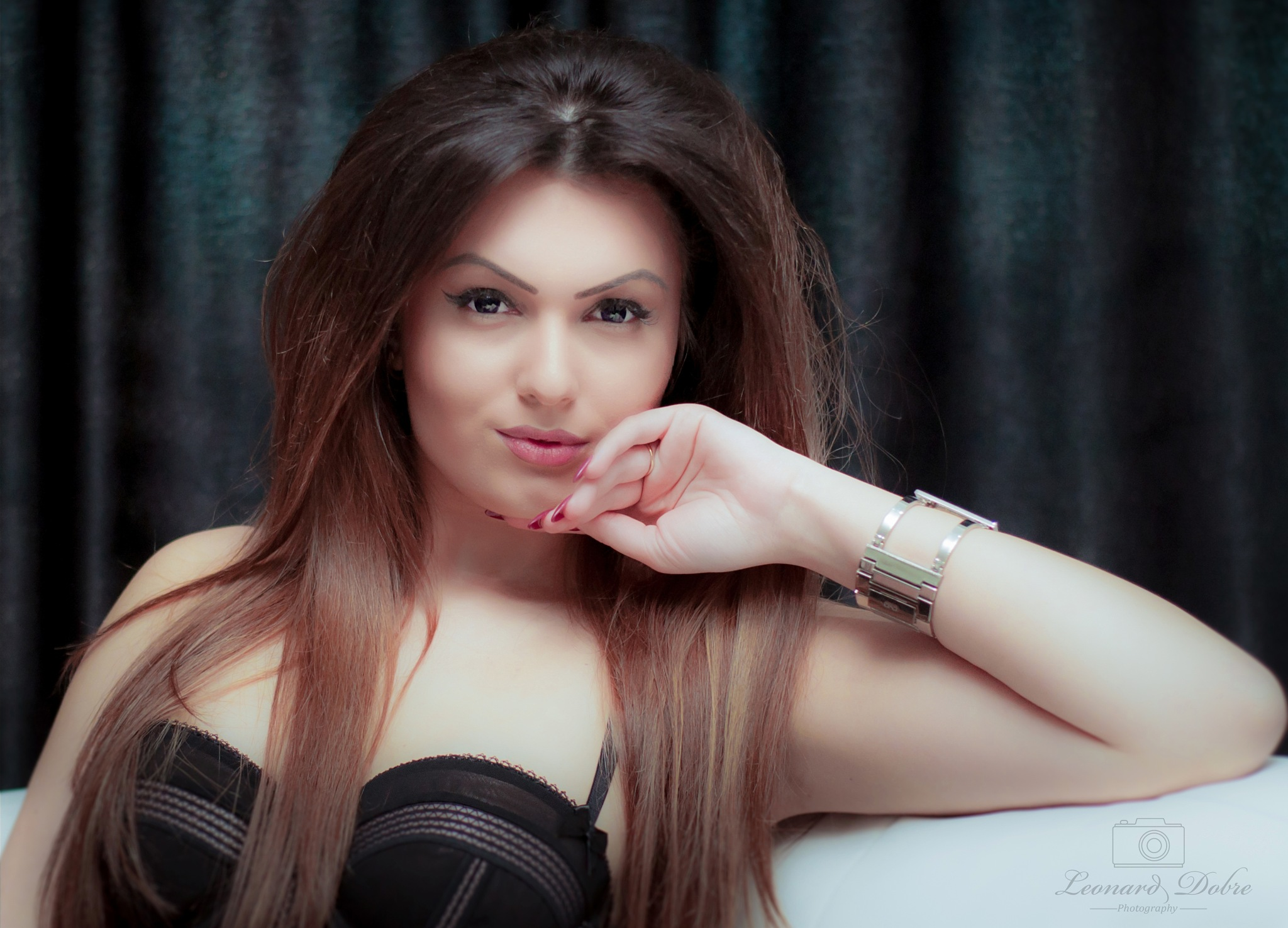 Photo in Portrait #sensual #sensuality #lady #girl #budoir #makeup #eyes #natuarlbeauty #lips #model #fashion