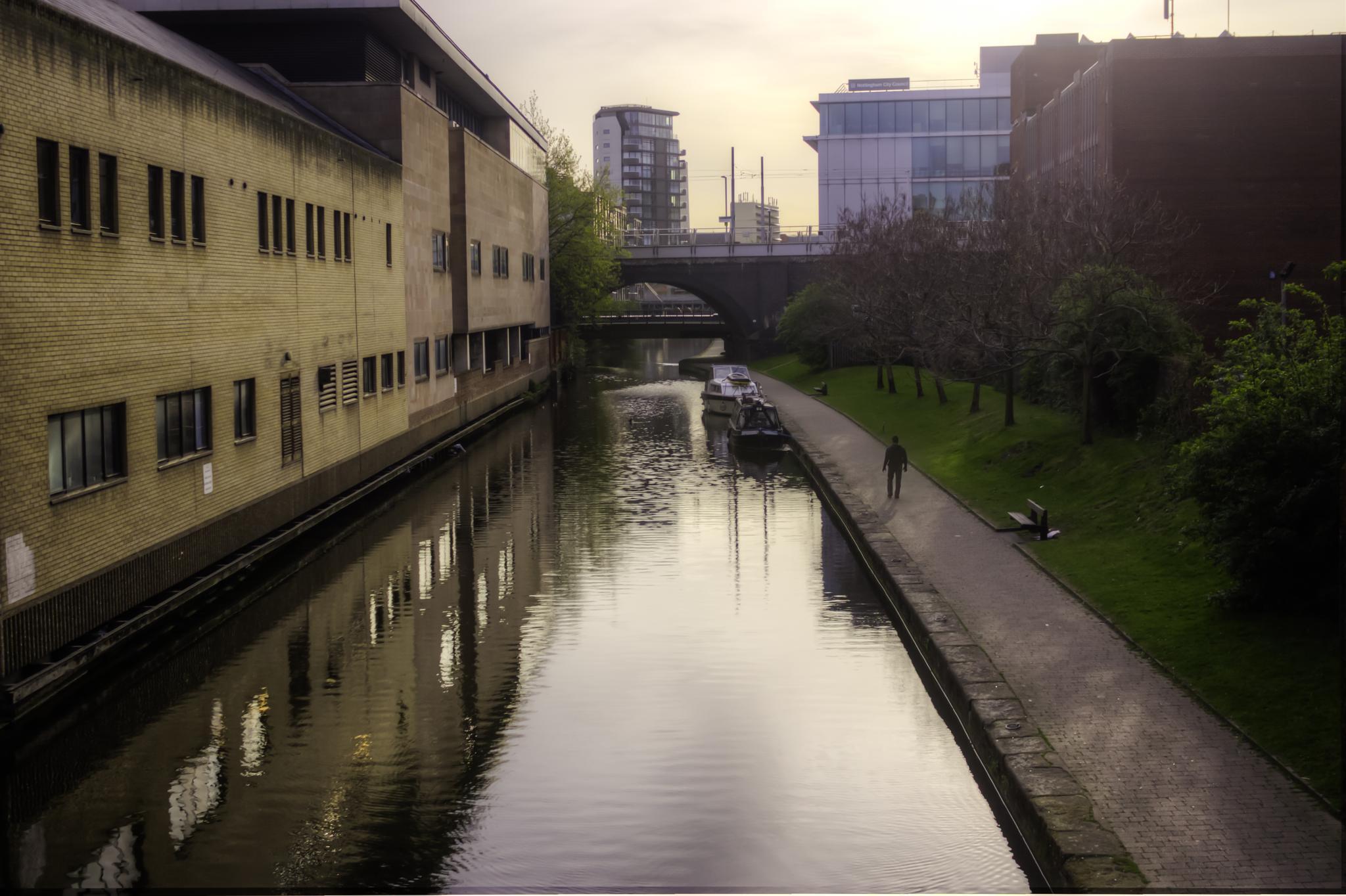 Sunrise at Nottingham Canal by tibcsi528