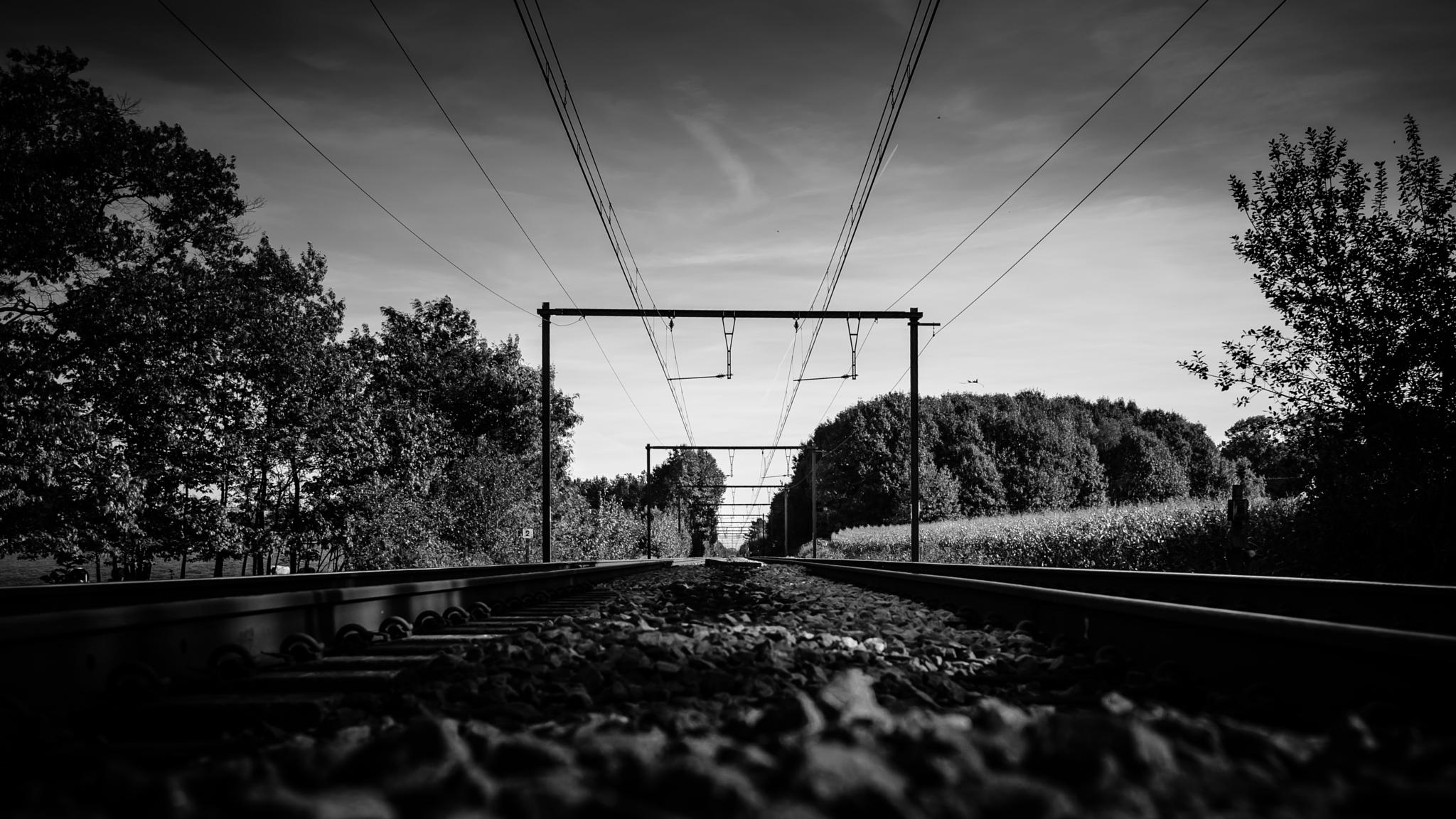 the road to somewhere by Nico Mombaerts Fotografie