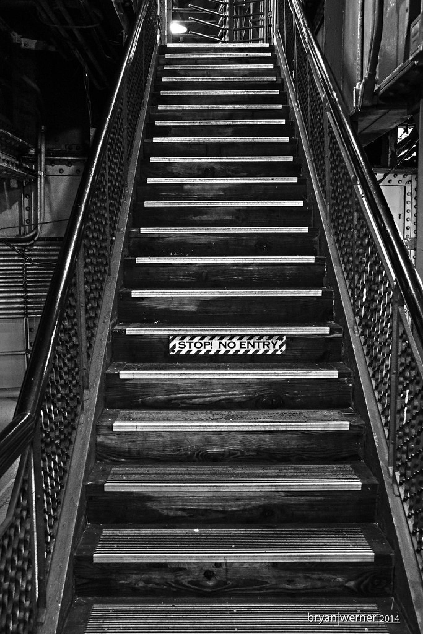 No Entry by Bryan Werner
