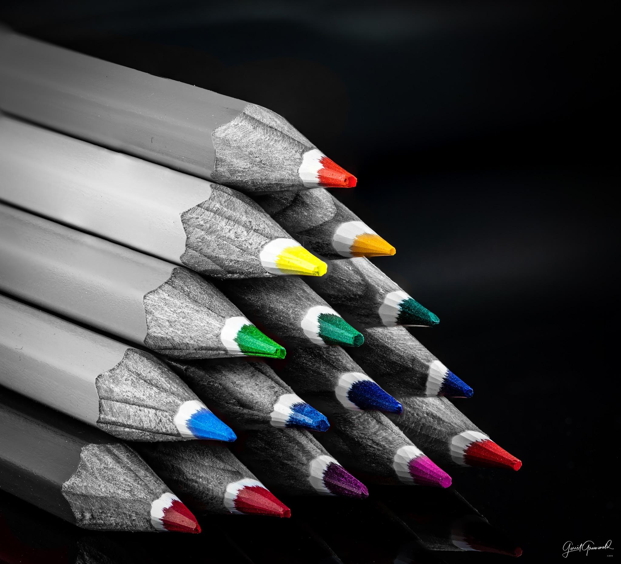 Colored Pencils by Gerrit Grunwald
