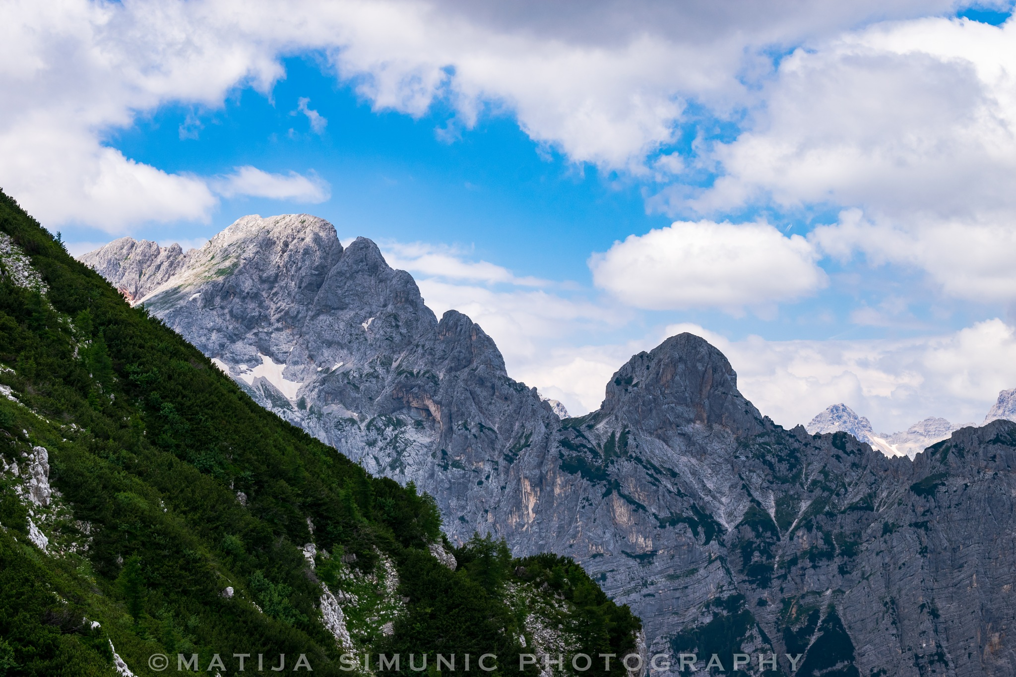 Green and gray by Matija