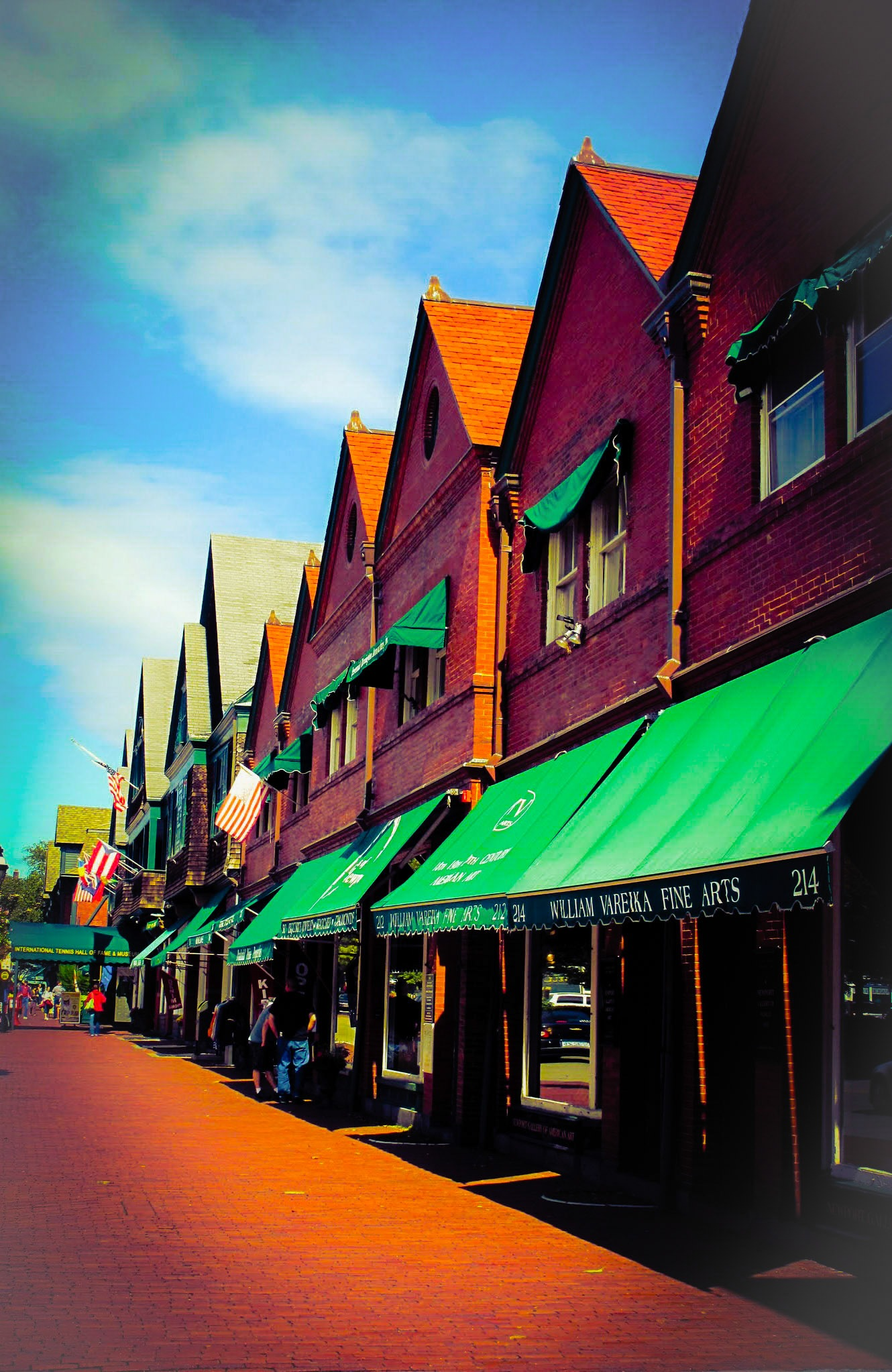Photo in Street Photography #newport #shops #streetscene