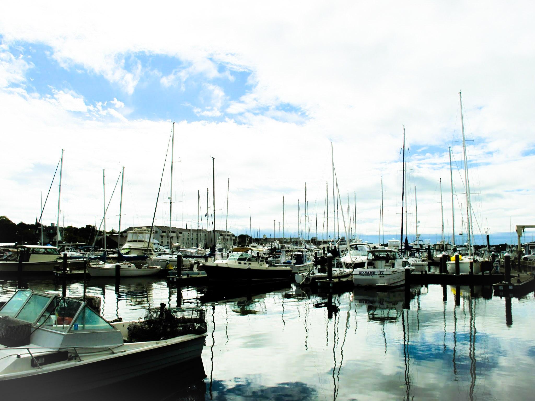 Photo in Sea and Sand #yachts #boats #marina #newport