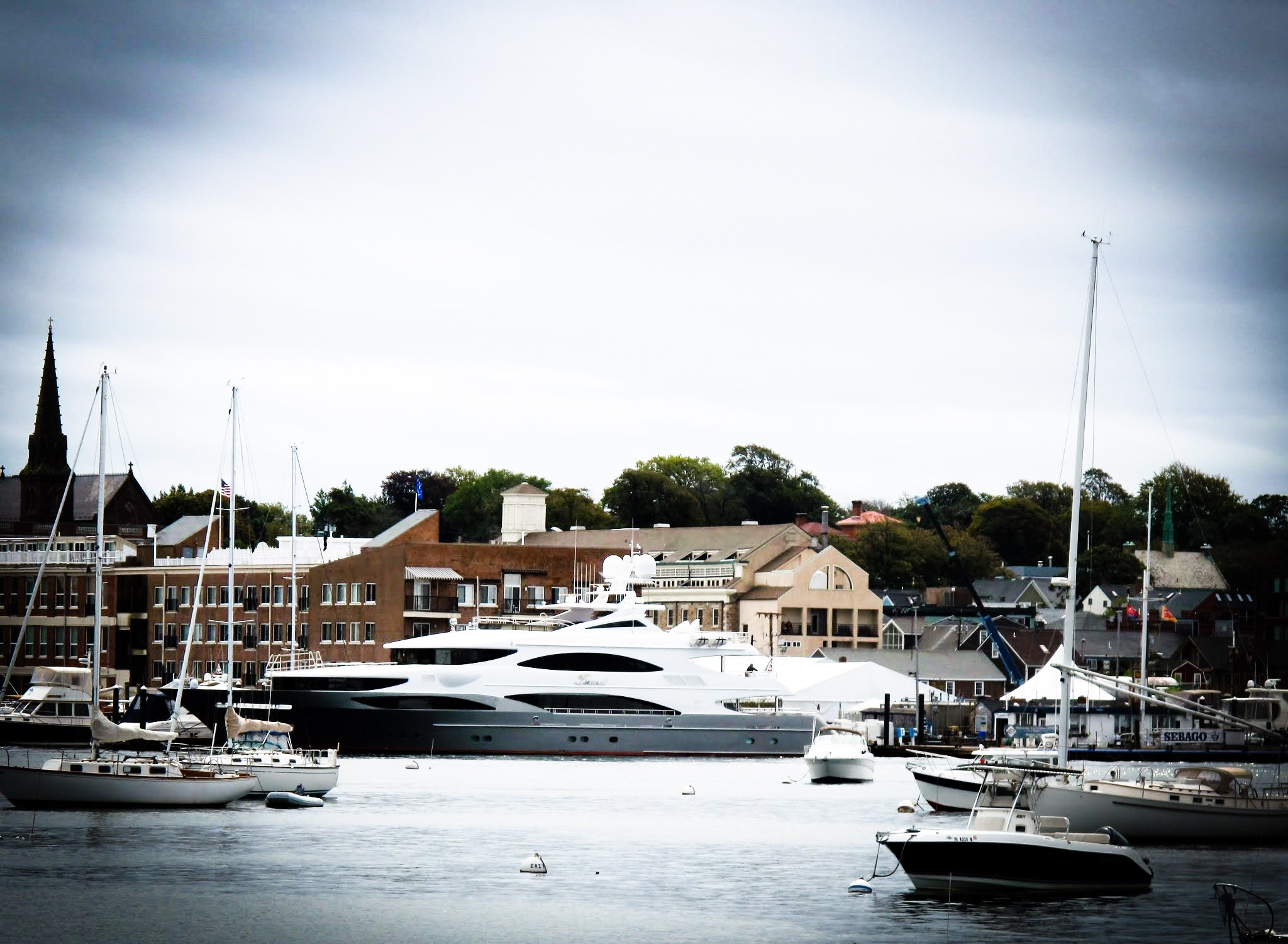 Photo in Random #yachts #cruiser #newport