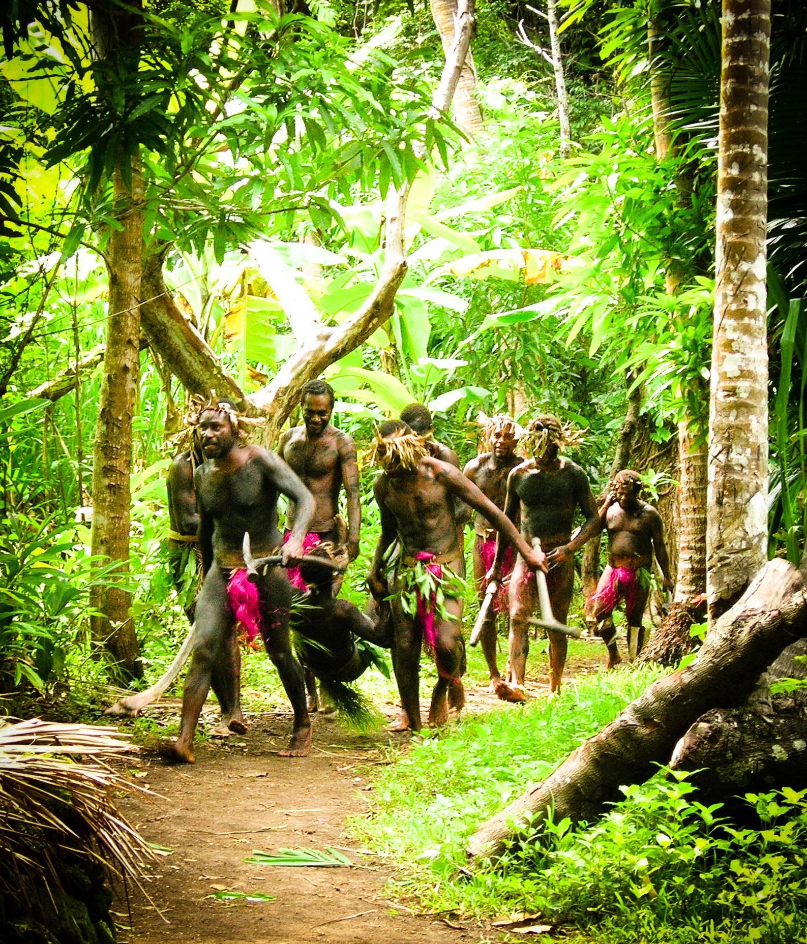 Fierce warriors dressed in pink by Jeanette Richmond