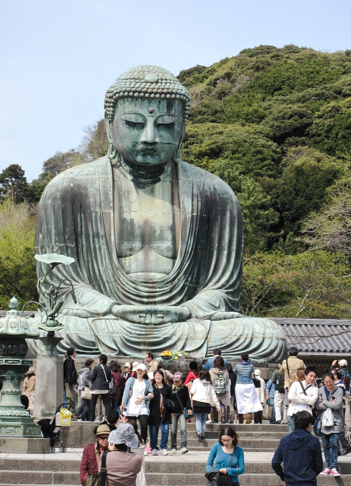The Giant Buddha of Kamakura by Jeanette Richmond