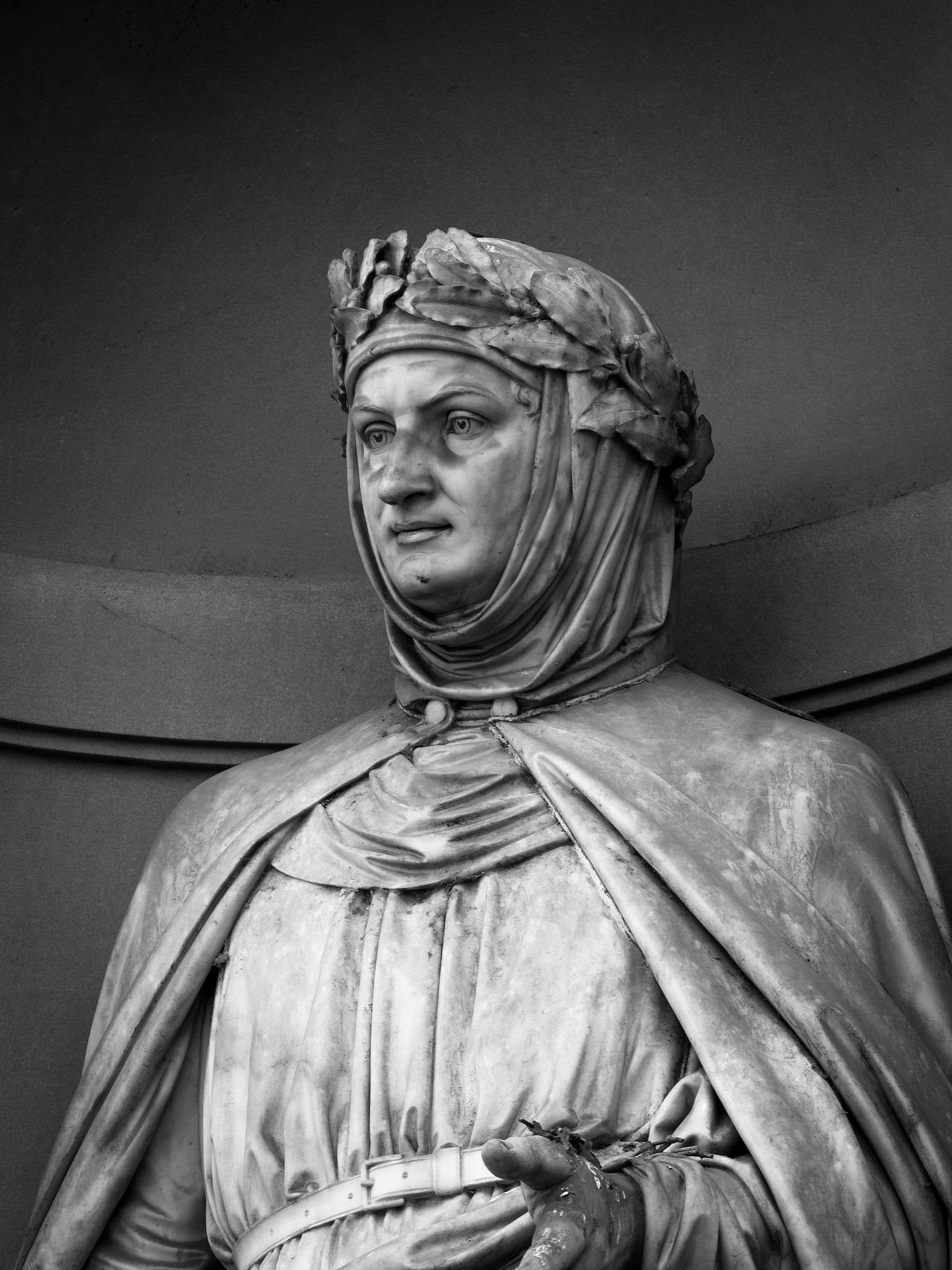 Statue of Giovanni Boccaccio (Firenze) by Piotr Arendarski