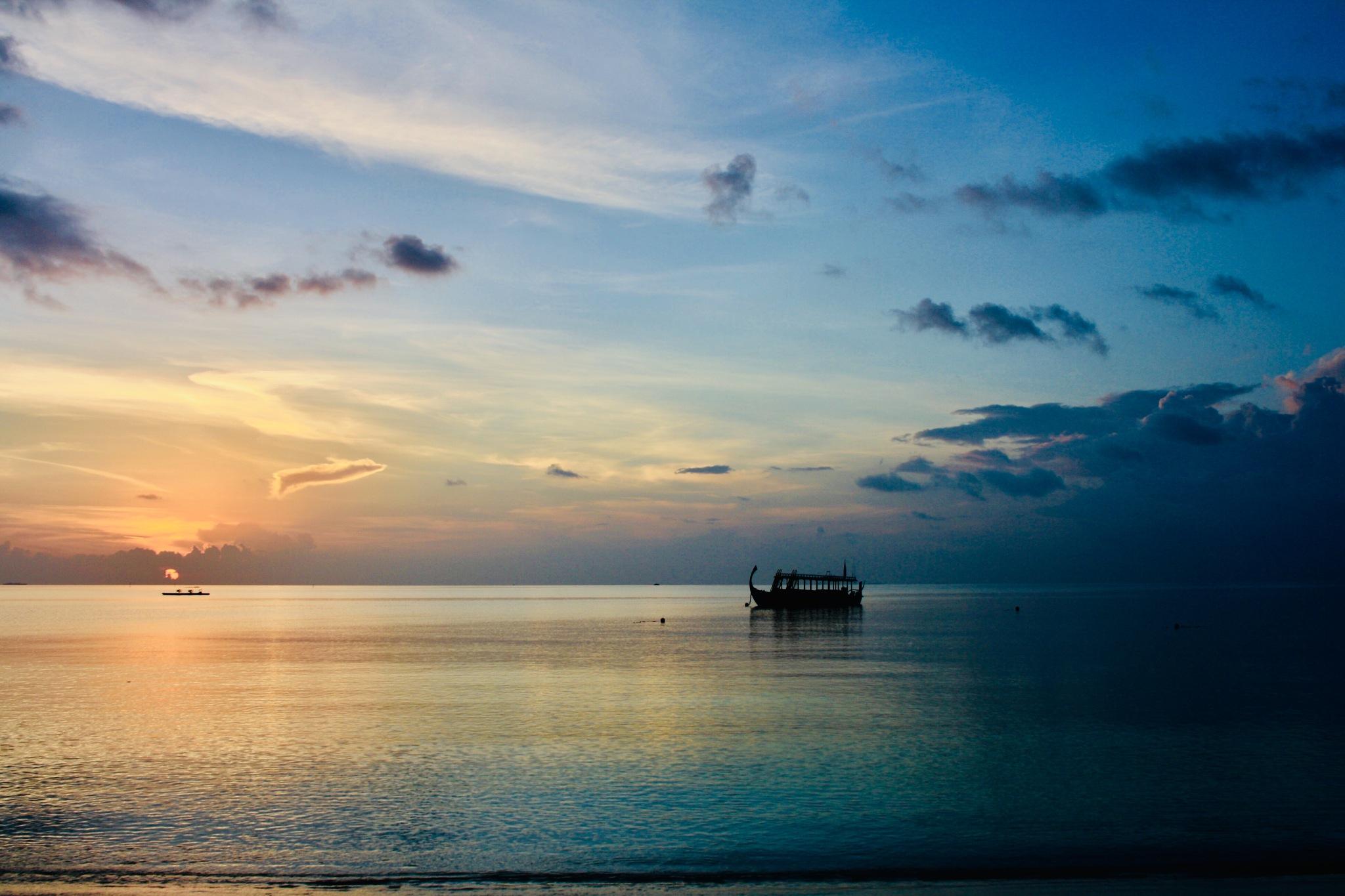 Beautiful sunset by Fataturchina_kate