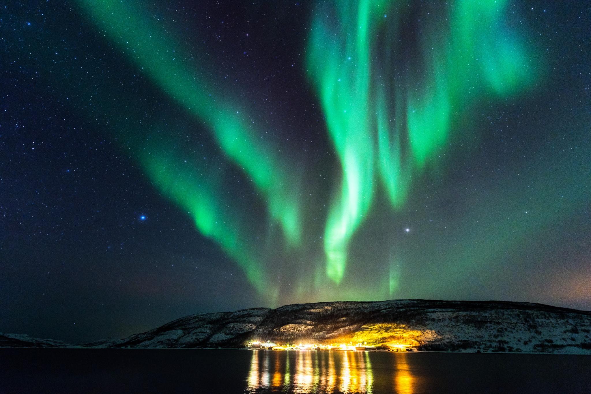 Smalfjord by E Pedersen