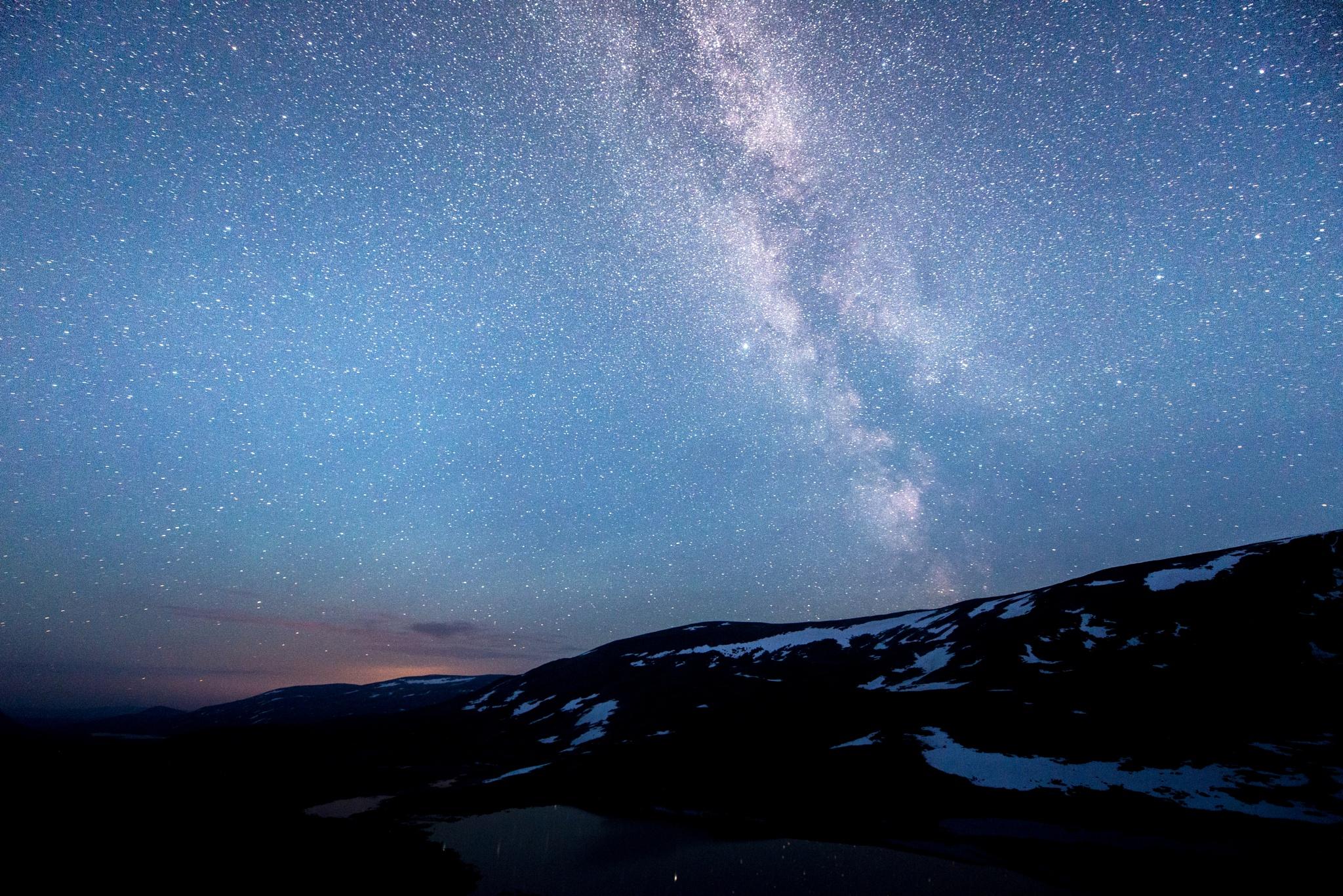 Milky road 2 by E Pedersen