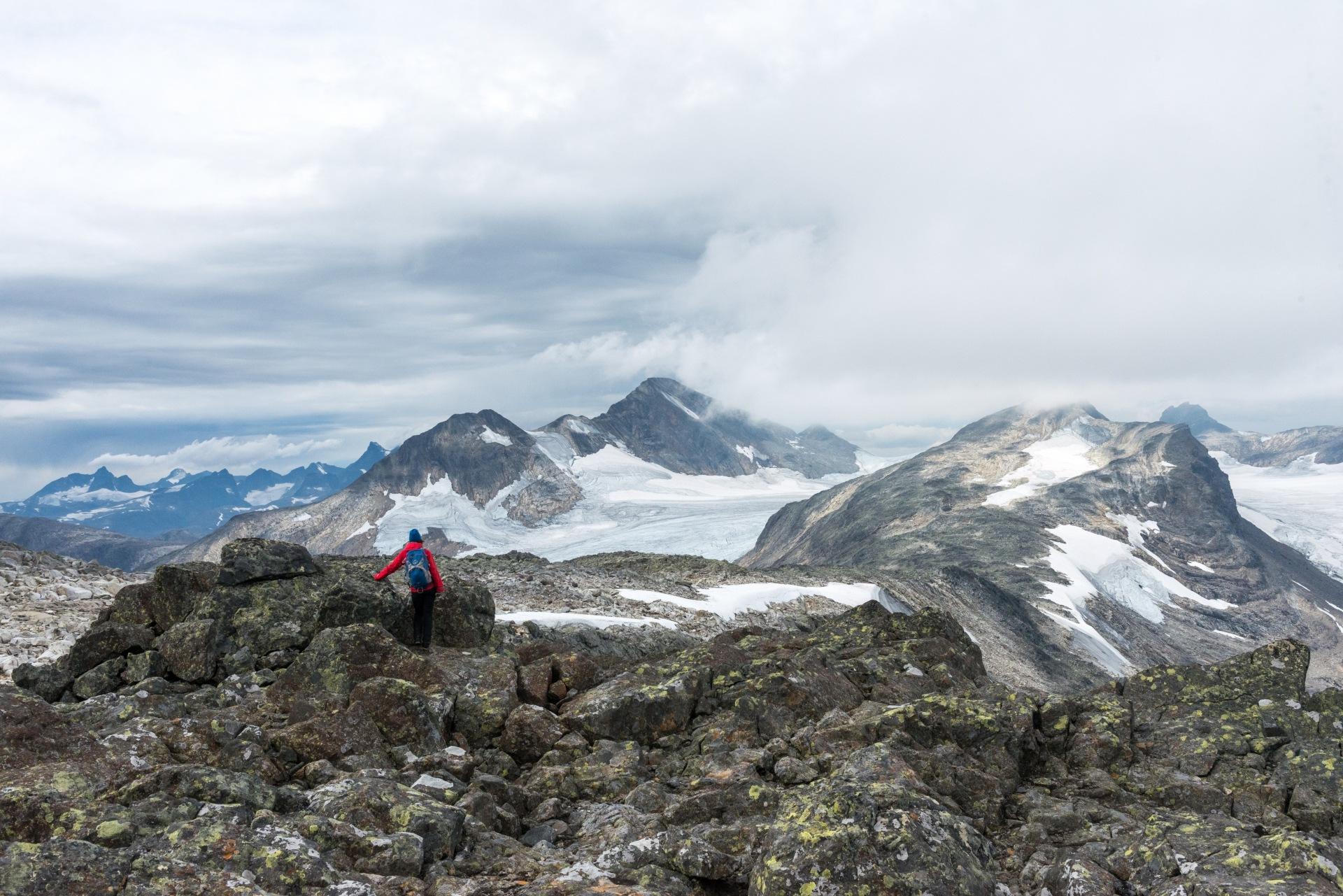 View towards jotunheimen by E Pedersen