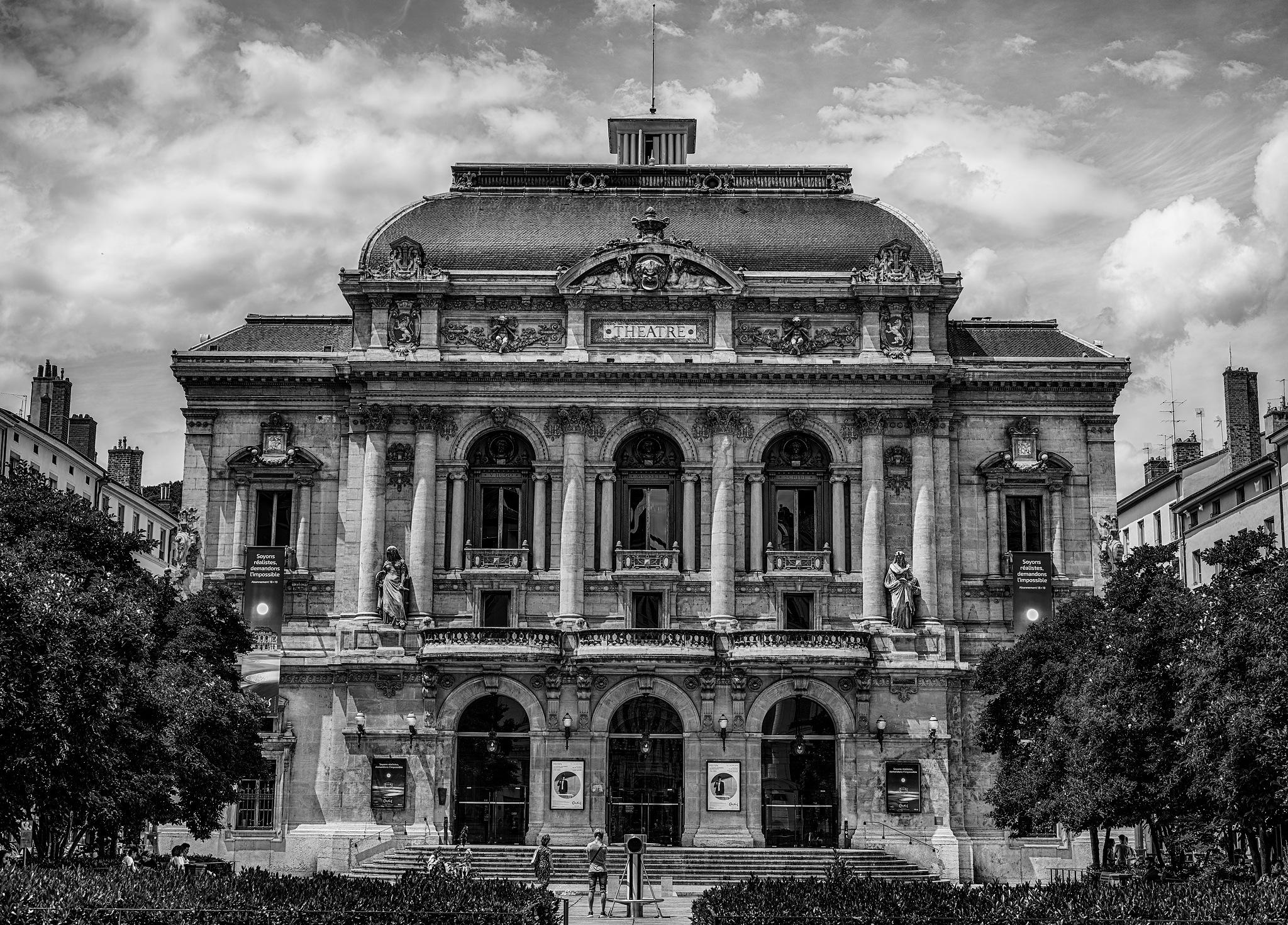 Celestins Theatre (Lyon) by RB