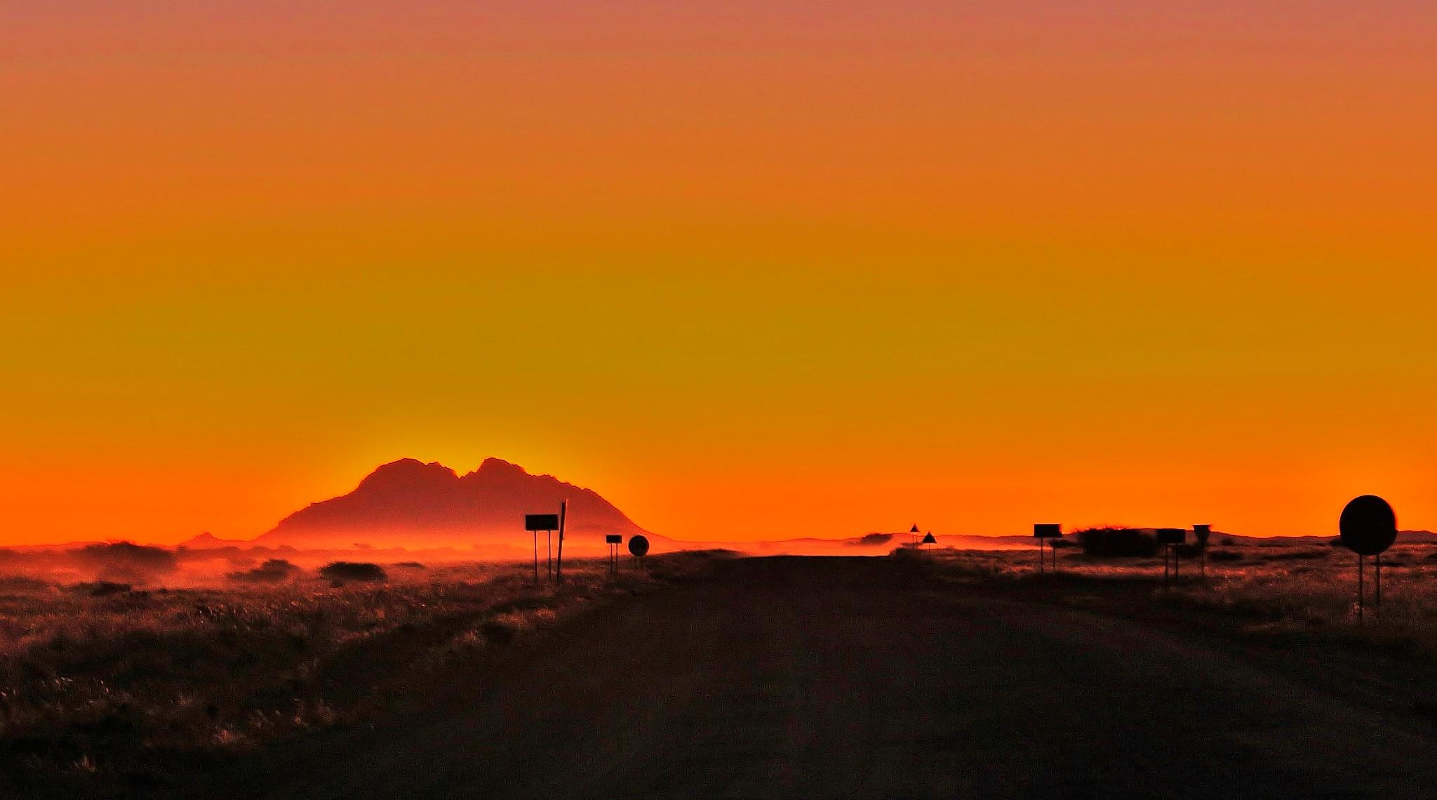 Dusty roads by Stefaans Blaauw