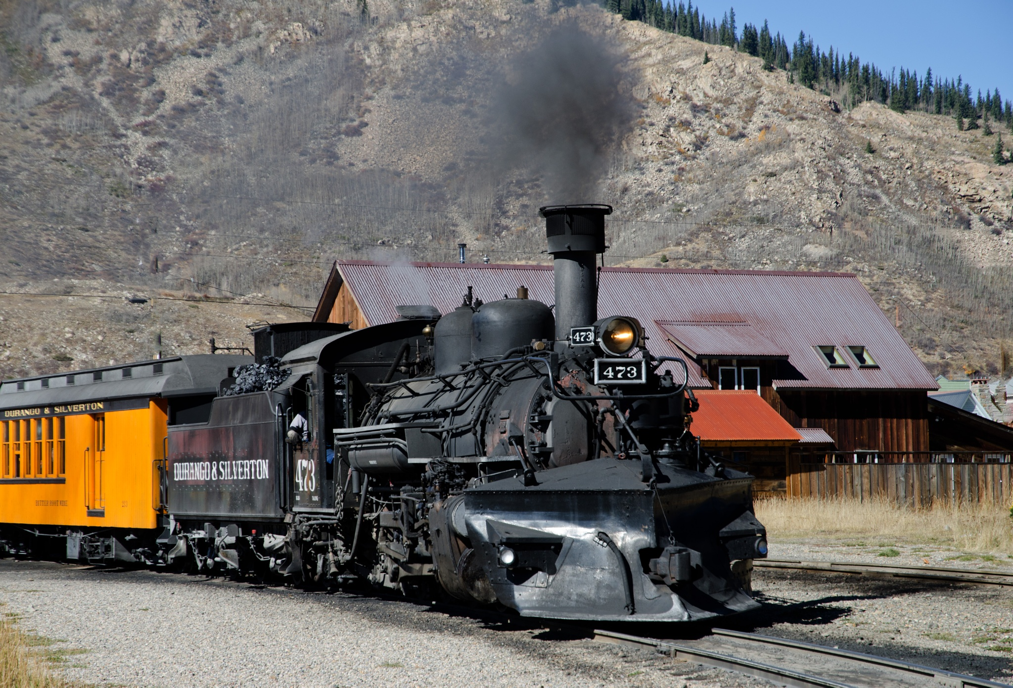 Steam Engine  -choo, choo! by Dennis Rubin