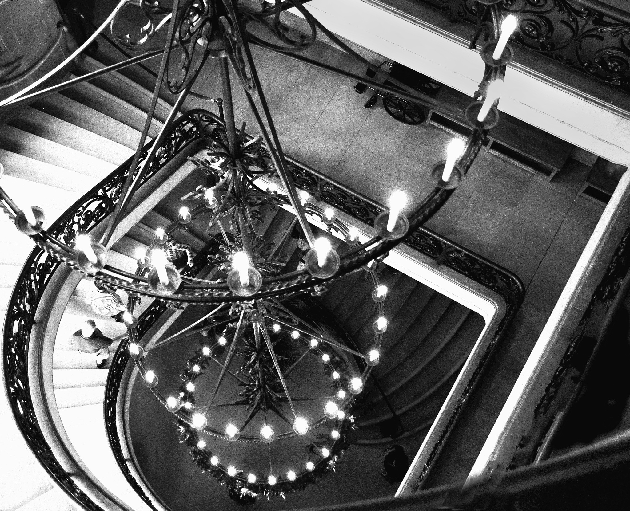 Biltmore Chandelier   by Dennis Rubin
