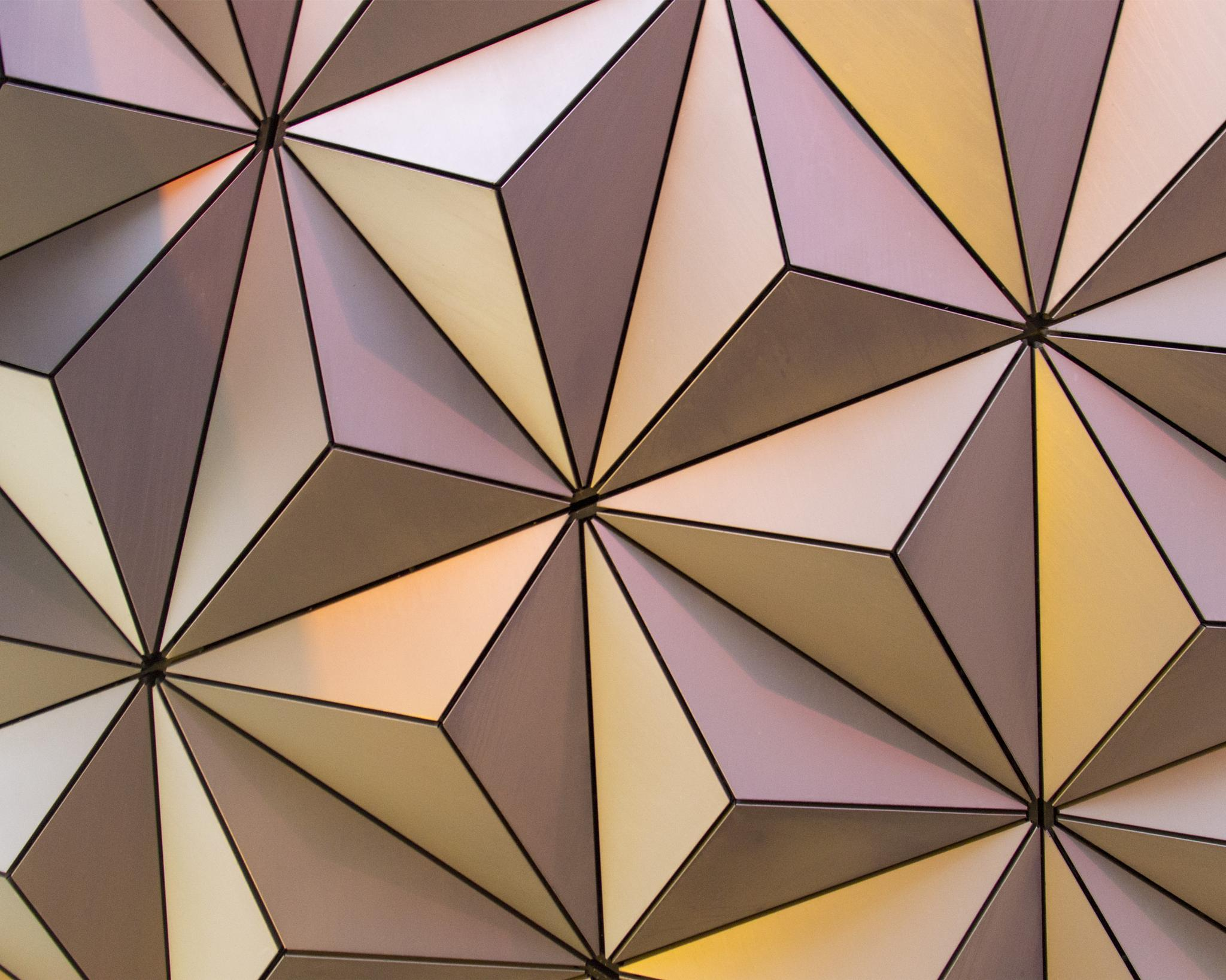 Epcot Ball Close Up by DMBell