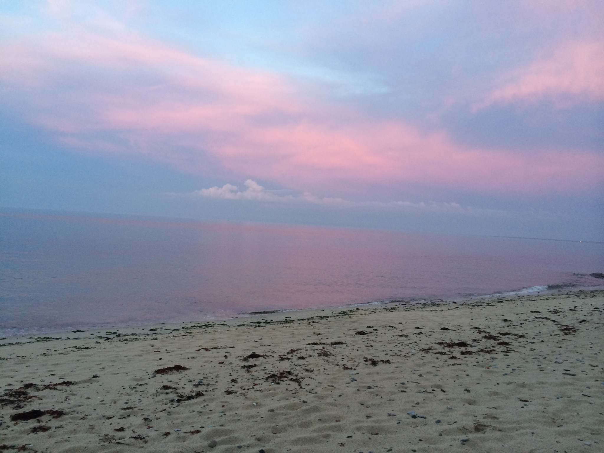 Sunset sky on the Beach by Patricia McCorry
