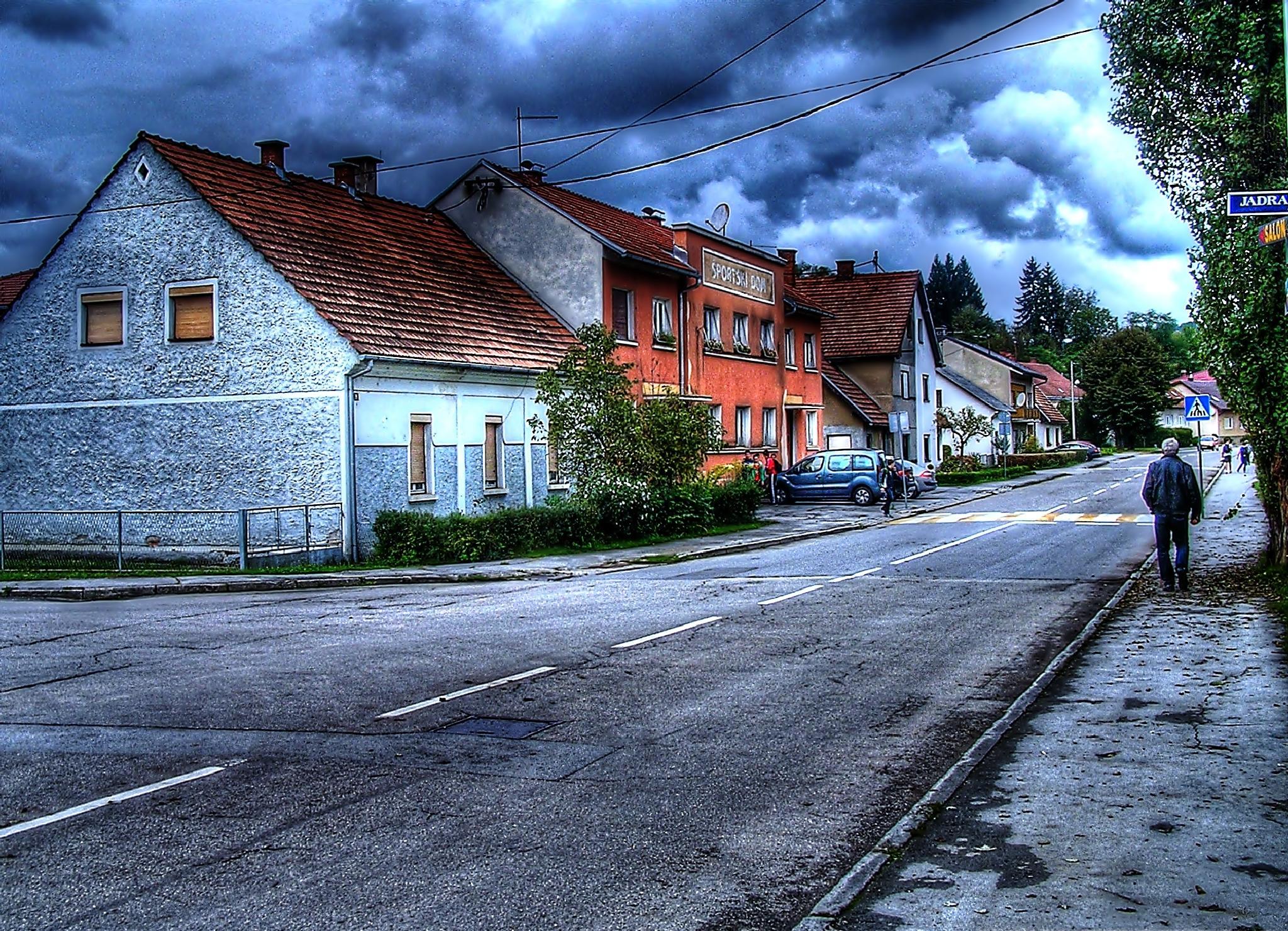 Street of Duga Resa 1 by Antun Marakovic