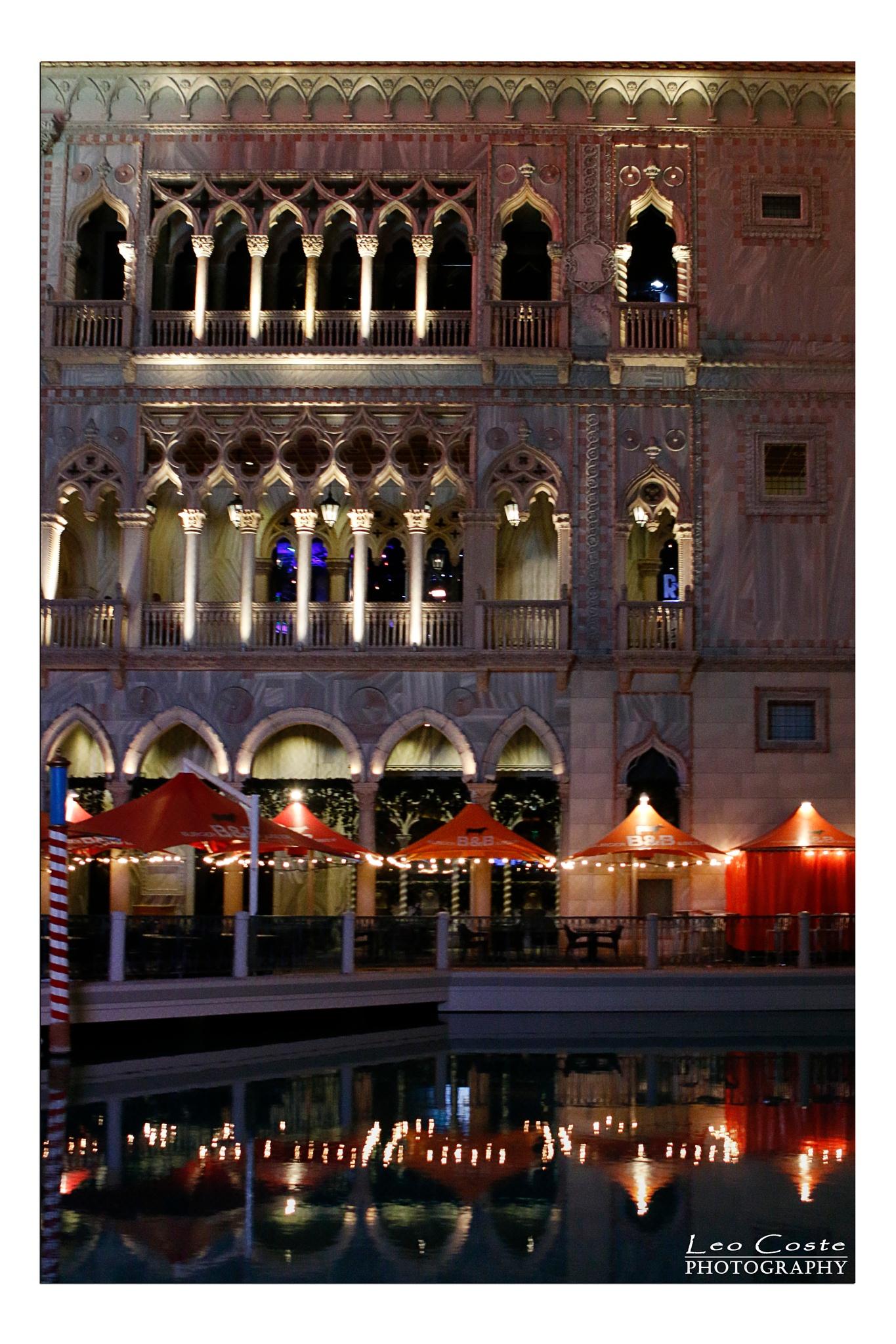 The Venetian Las Vegas by Leo Coste