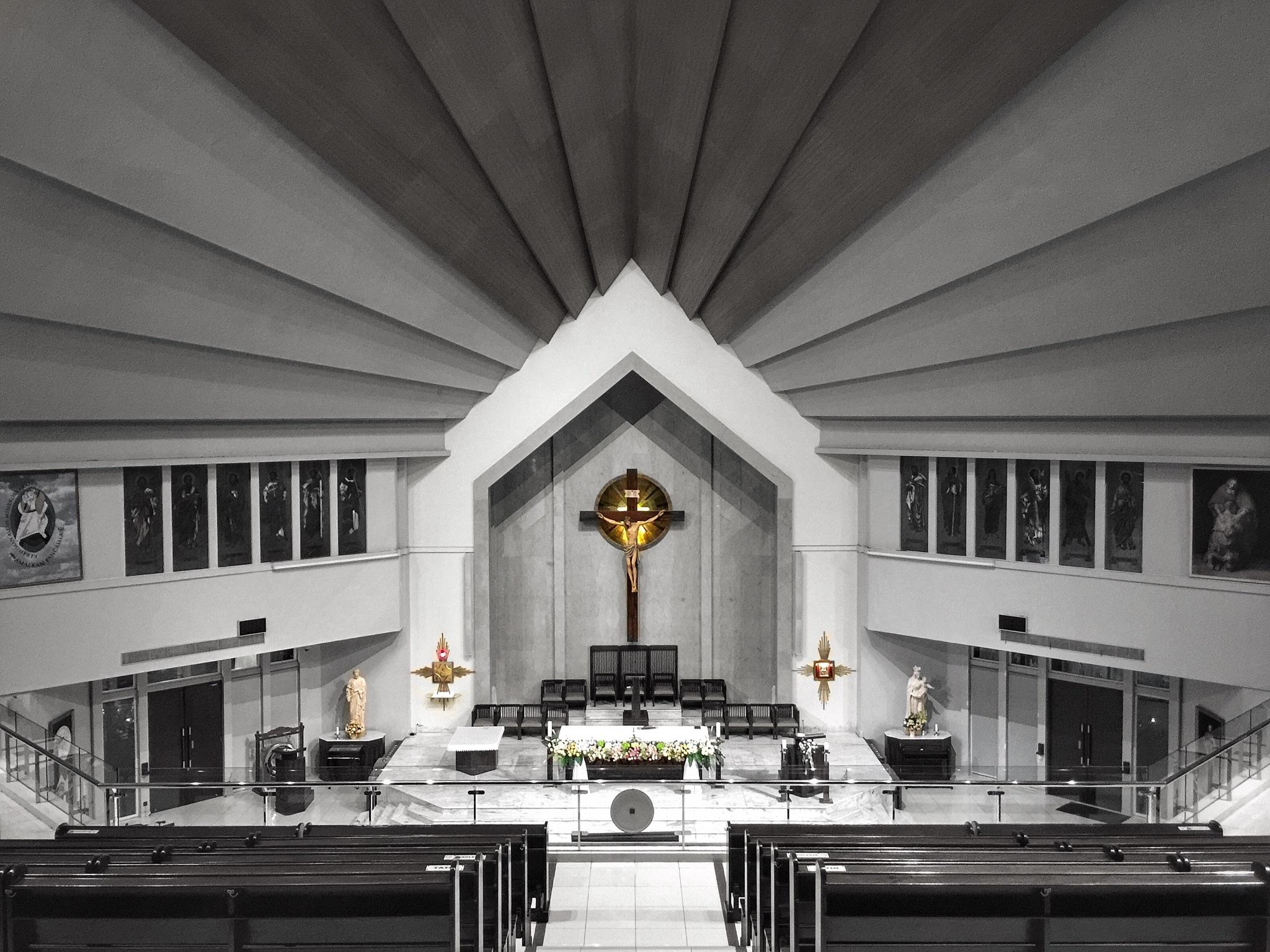 St. Yakobus church by Danny Rustandi