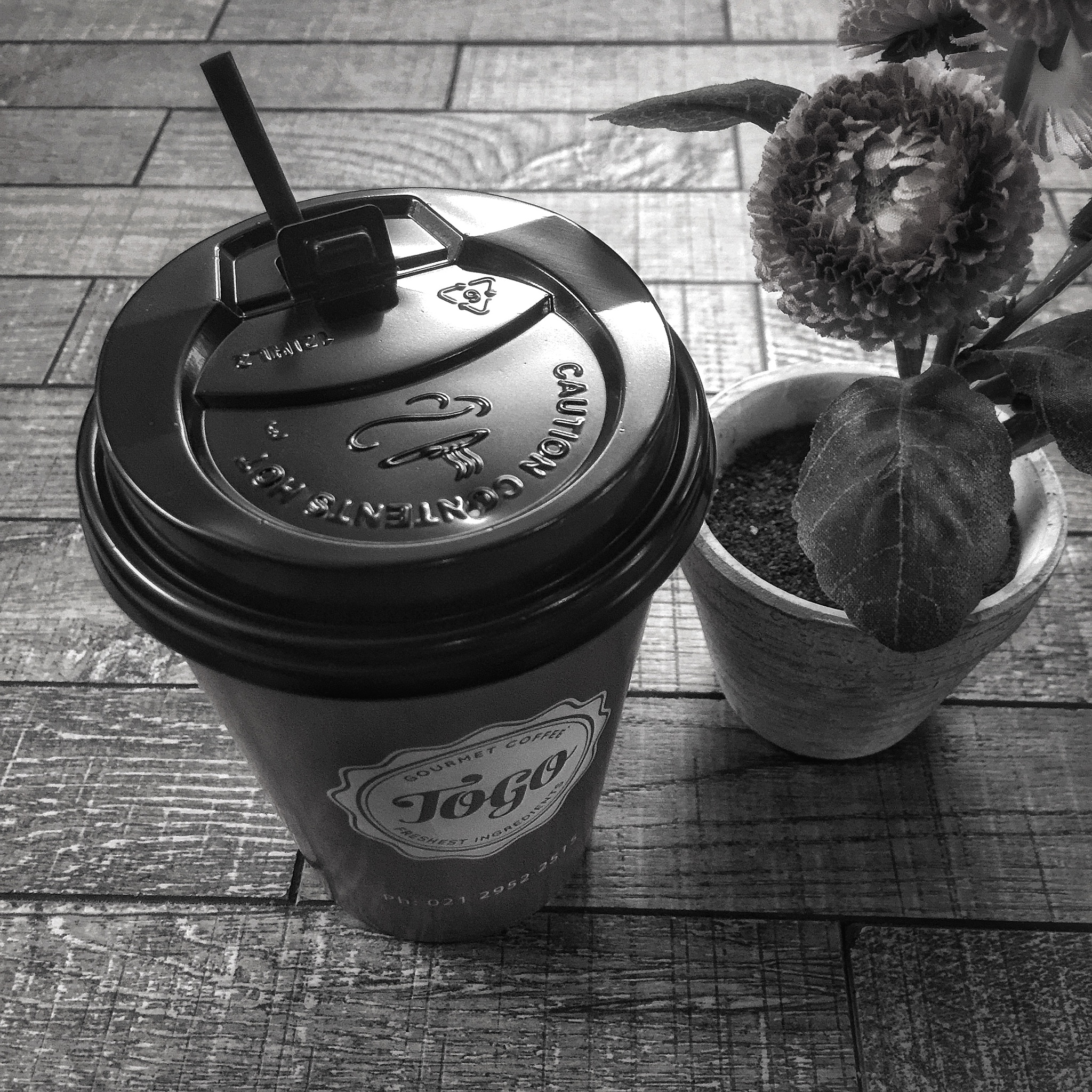 My morning companion, a cup of hot mocca.. by Danny Rustandi