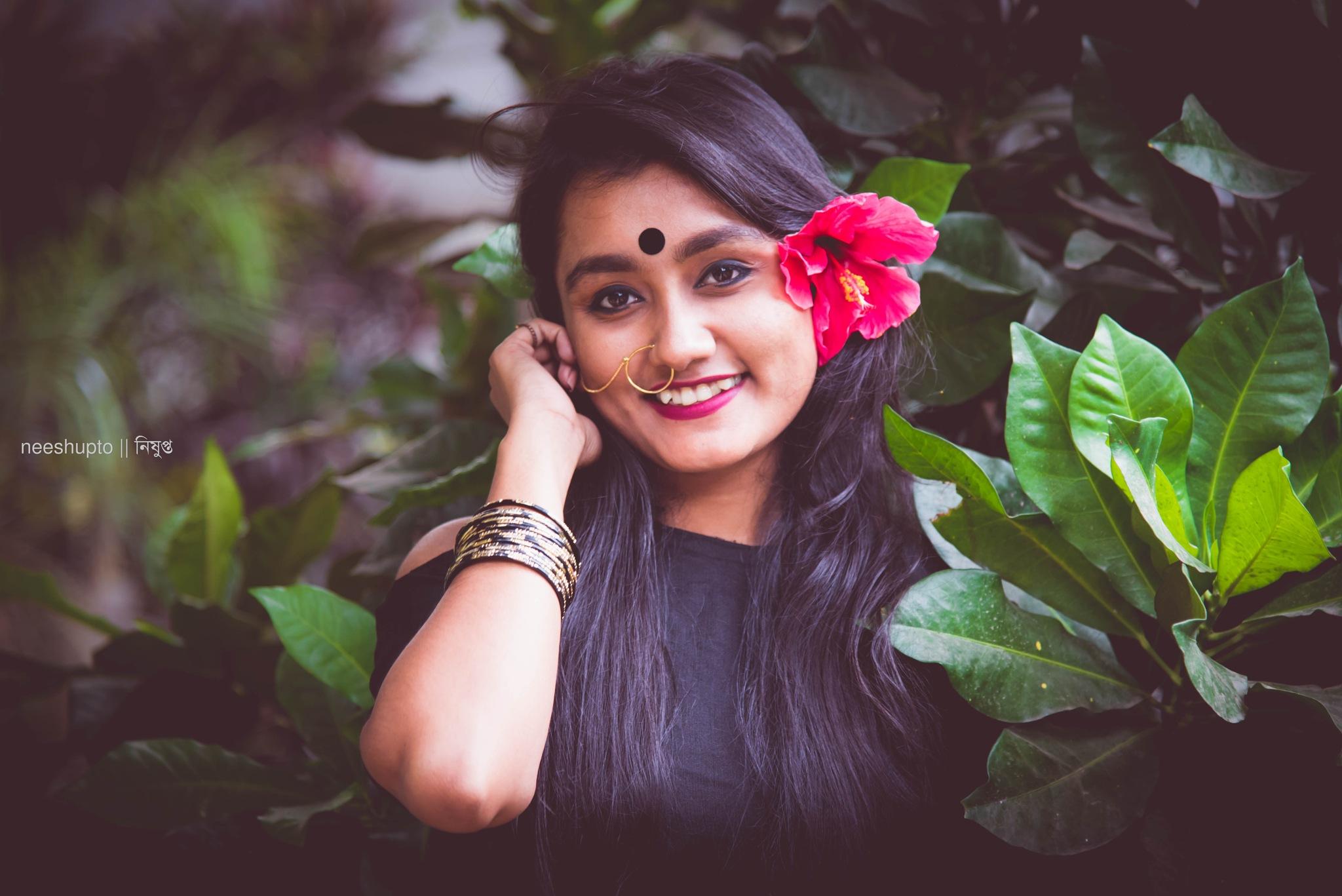like her smile... by Neeshupto Sagar