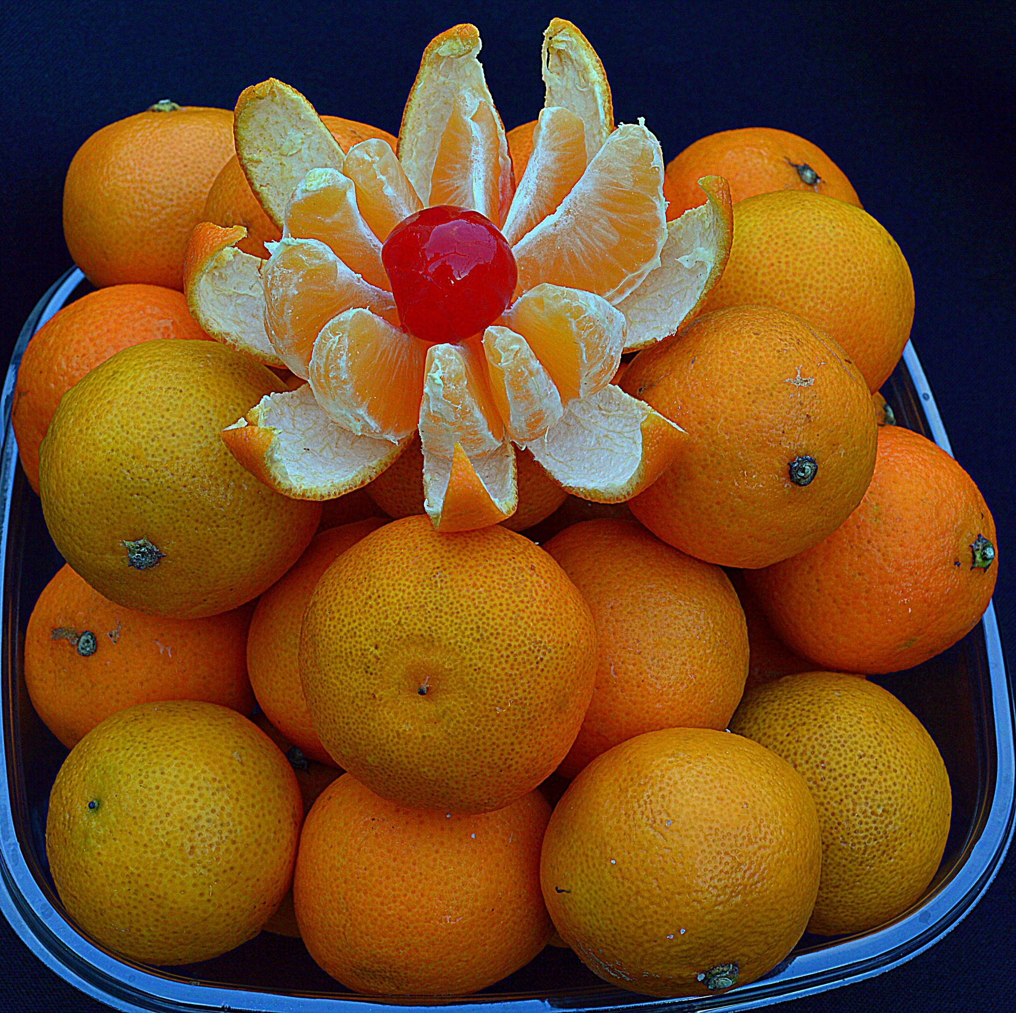 Clementines & cherry. by Andrew Piekut