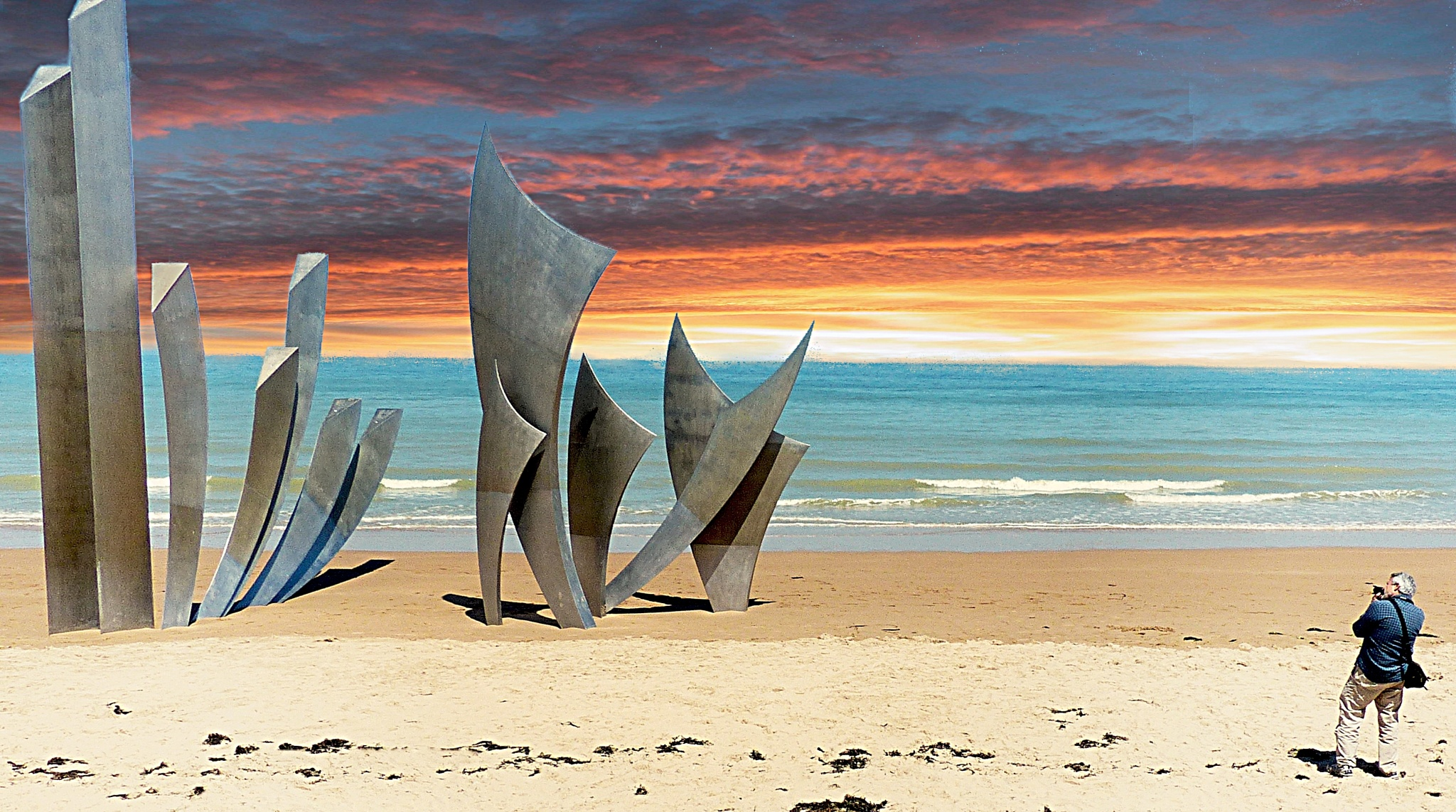 D-Day memorial by Costa Philippou