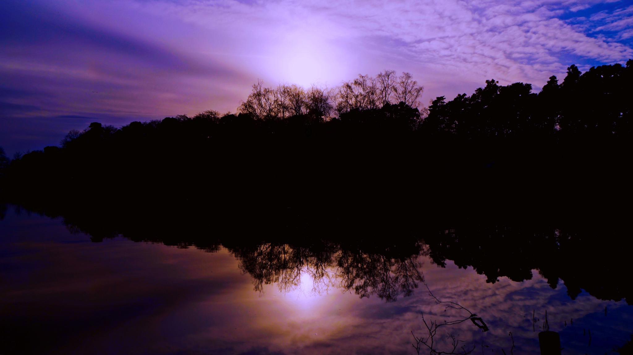 Night fall by Dieter Heymer