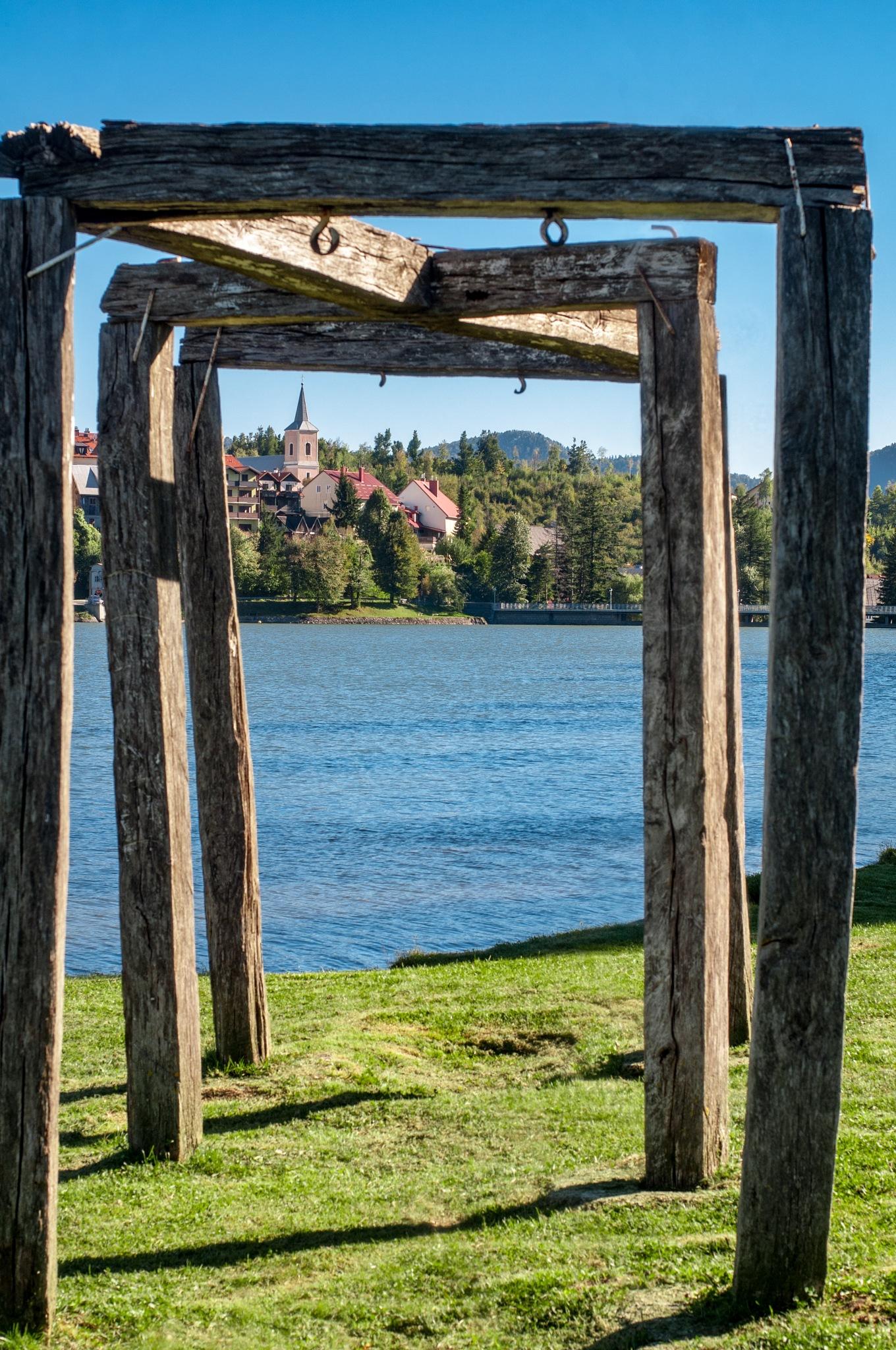 Fuzine, a small community by the lake in Croatia by Abhaya Ferdo Fulgosi