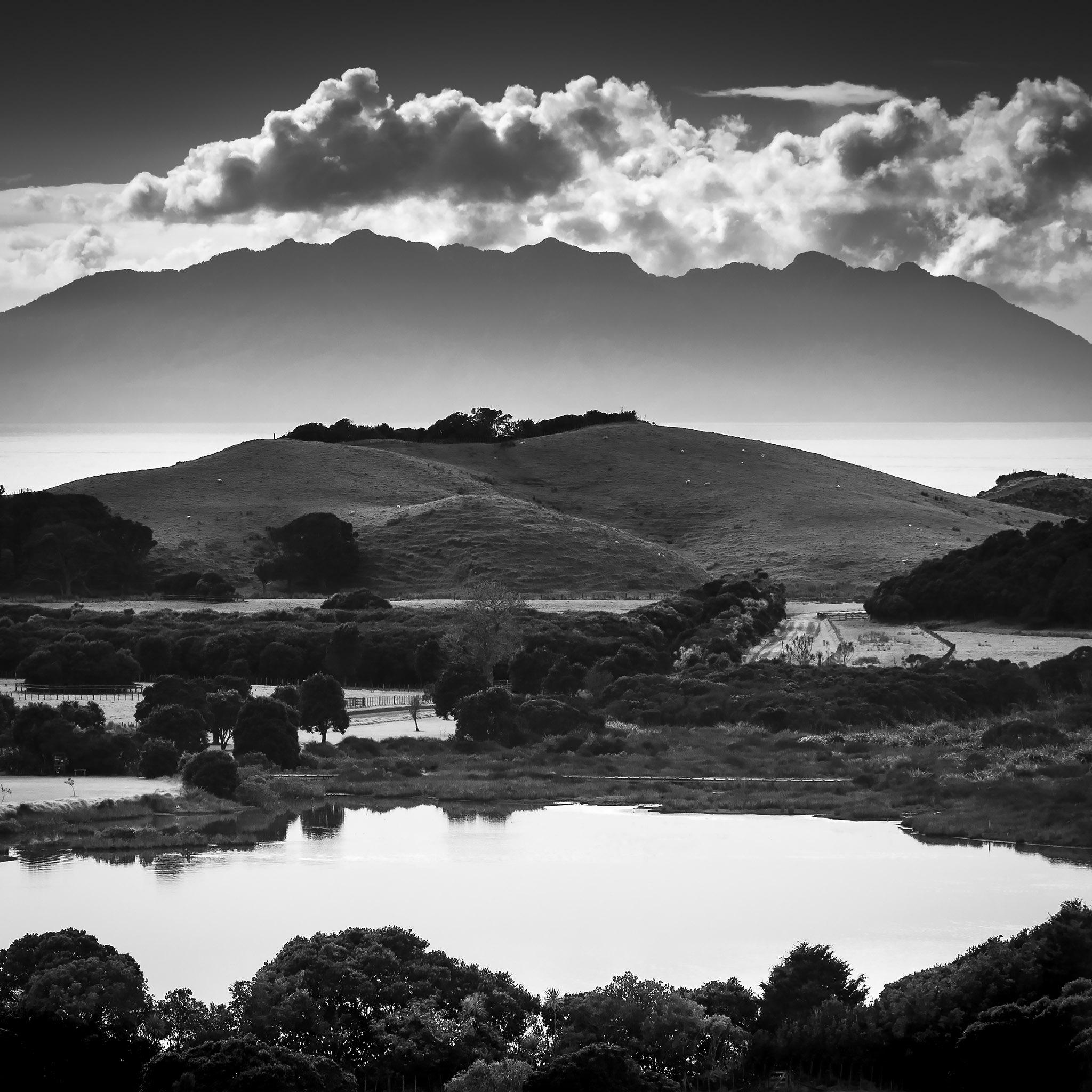 Lagoon, Sea & Island by Hugh Jones