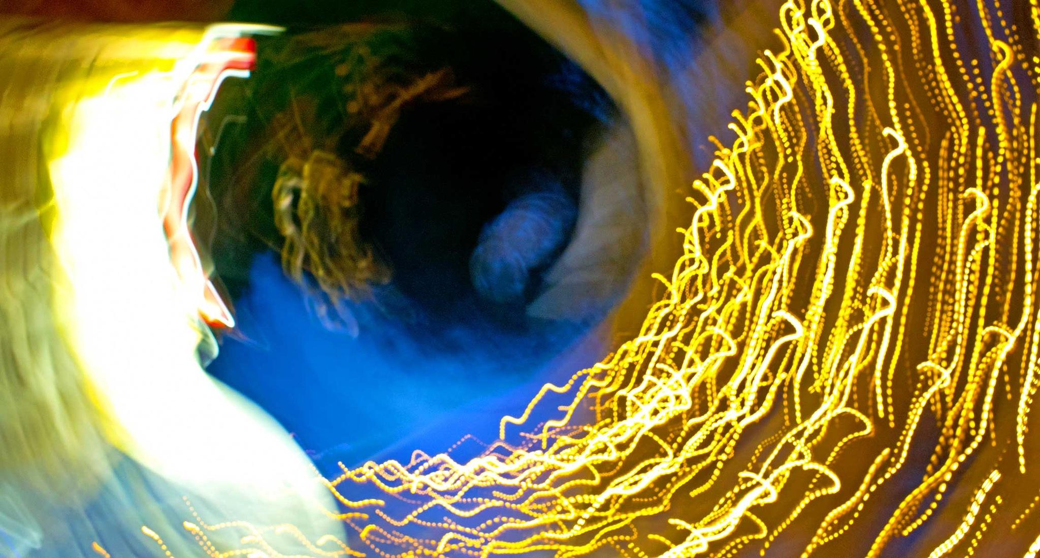Light Tunnel by Hugh Jones