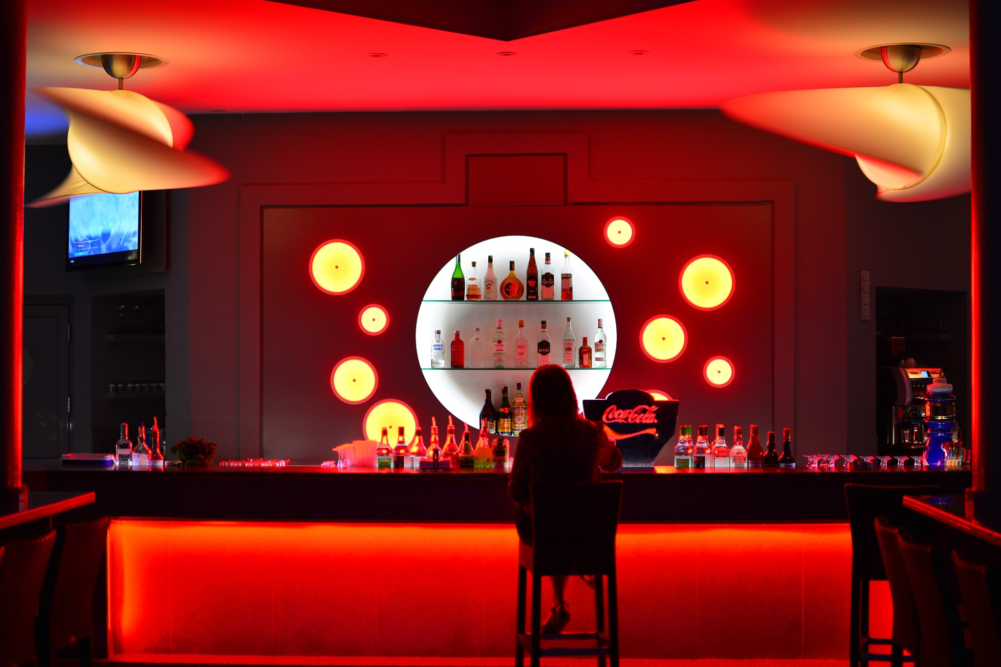 Bar in Red by 1211steve1211