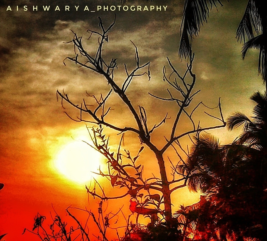 Evening  by AISWARYA P S