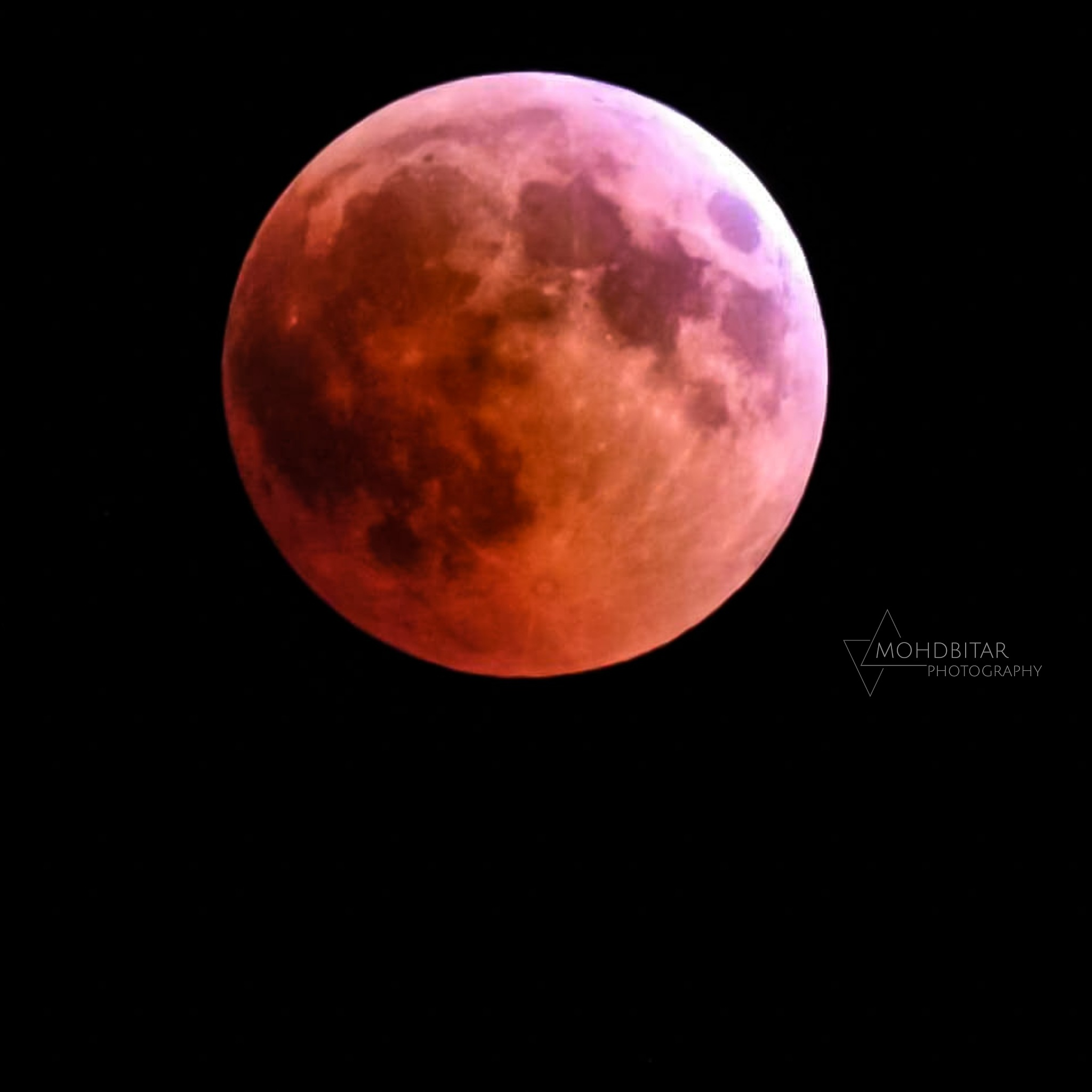 Moon by mohammad Bitar