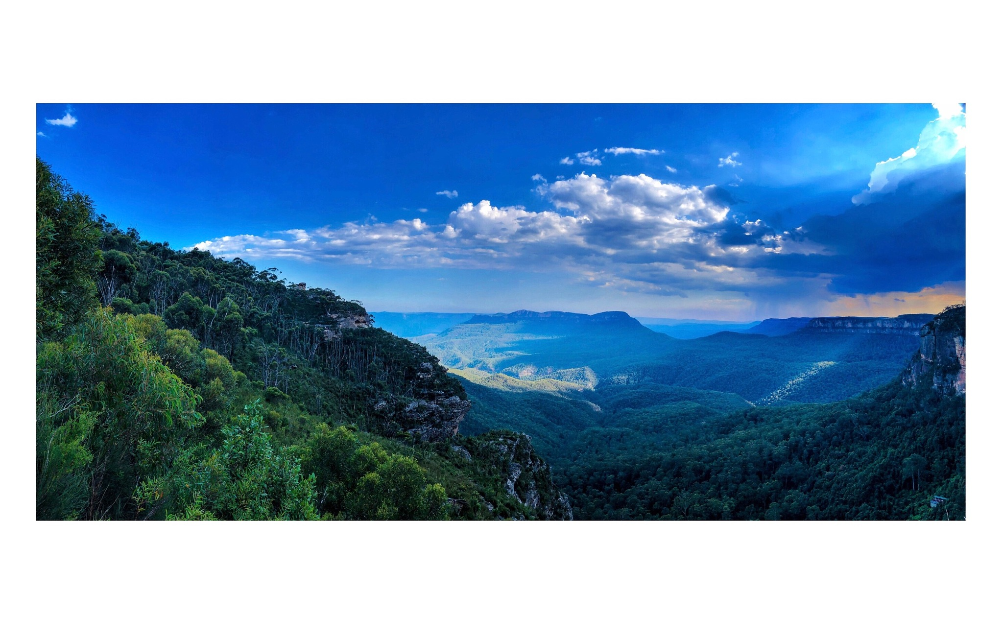 The blue mountains by the_shutter_donut