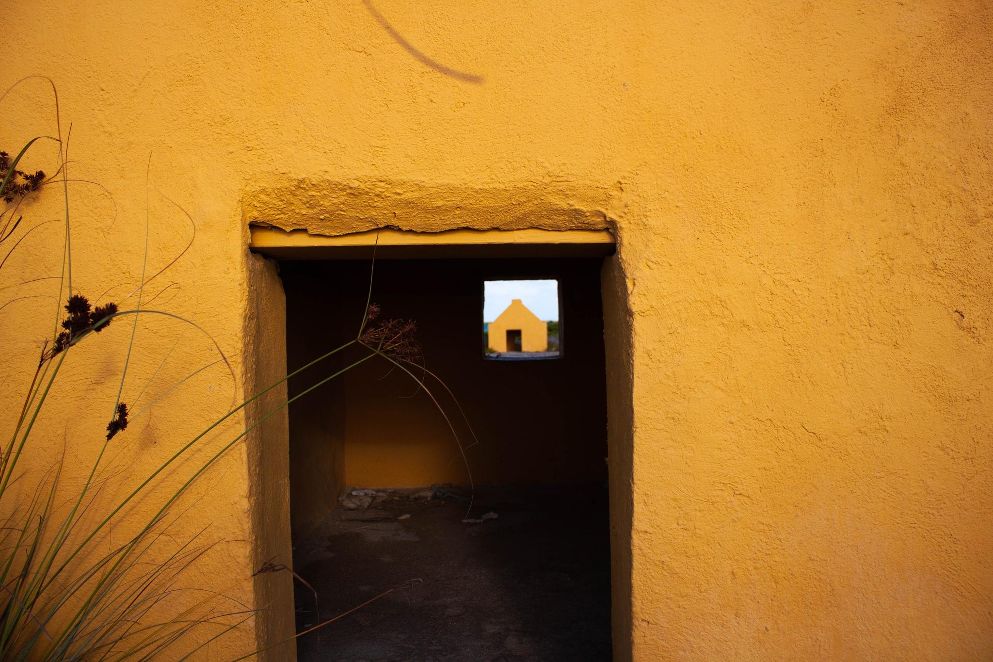 Orange Slave Houses by Dimphy Deitmers