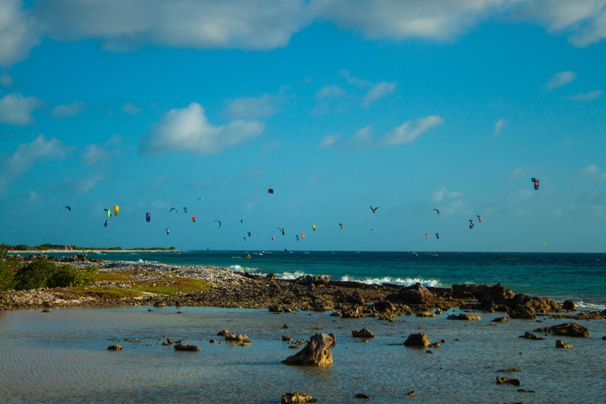 Kite Surfers by Dimphy Deitmers