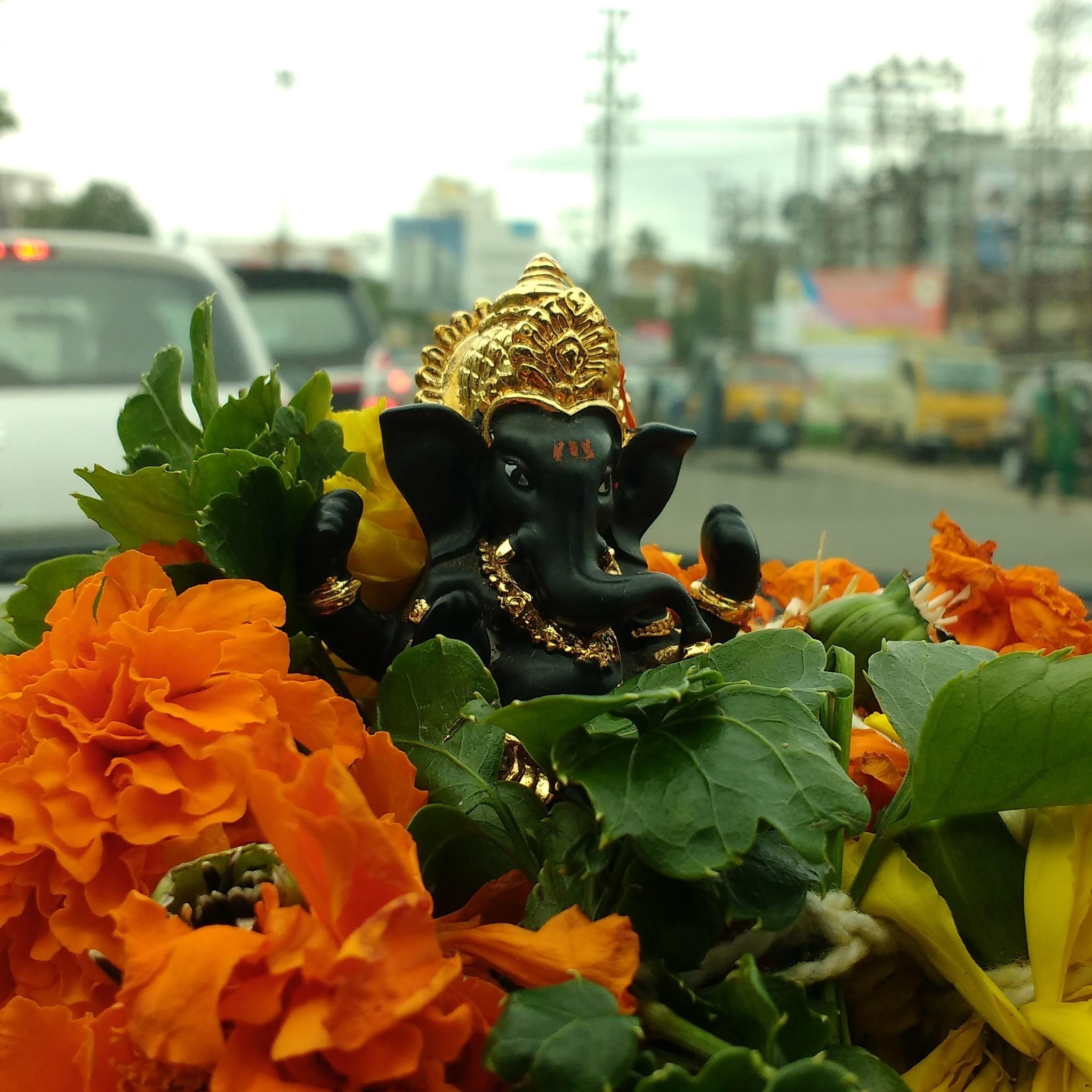 Ganesha, the elephant God by Sreeja Sreedharan