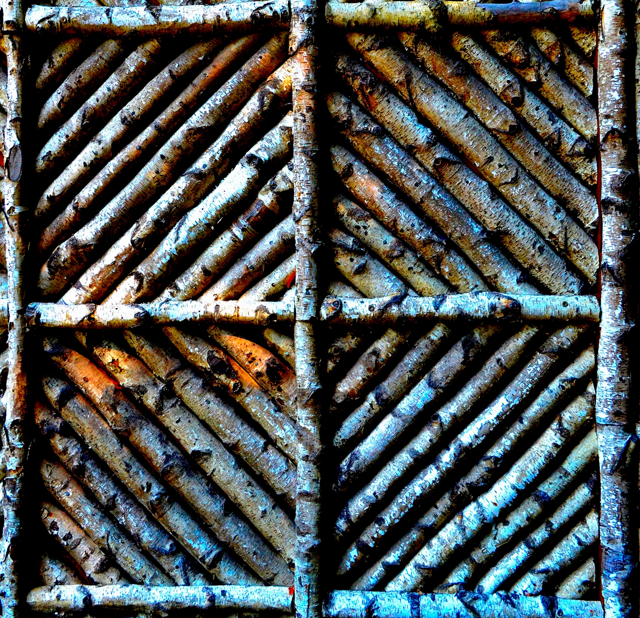 Photo in Abstract #square #wood #center