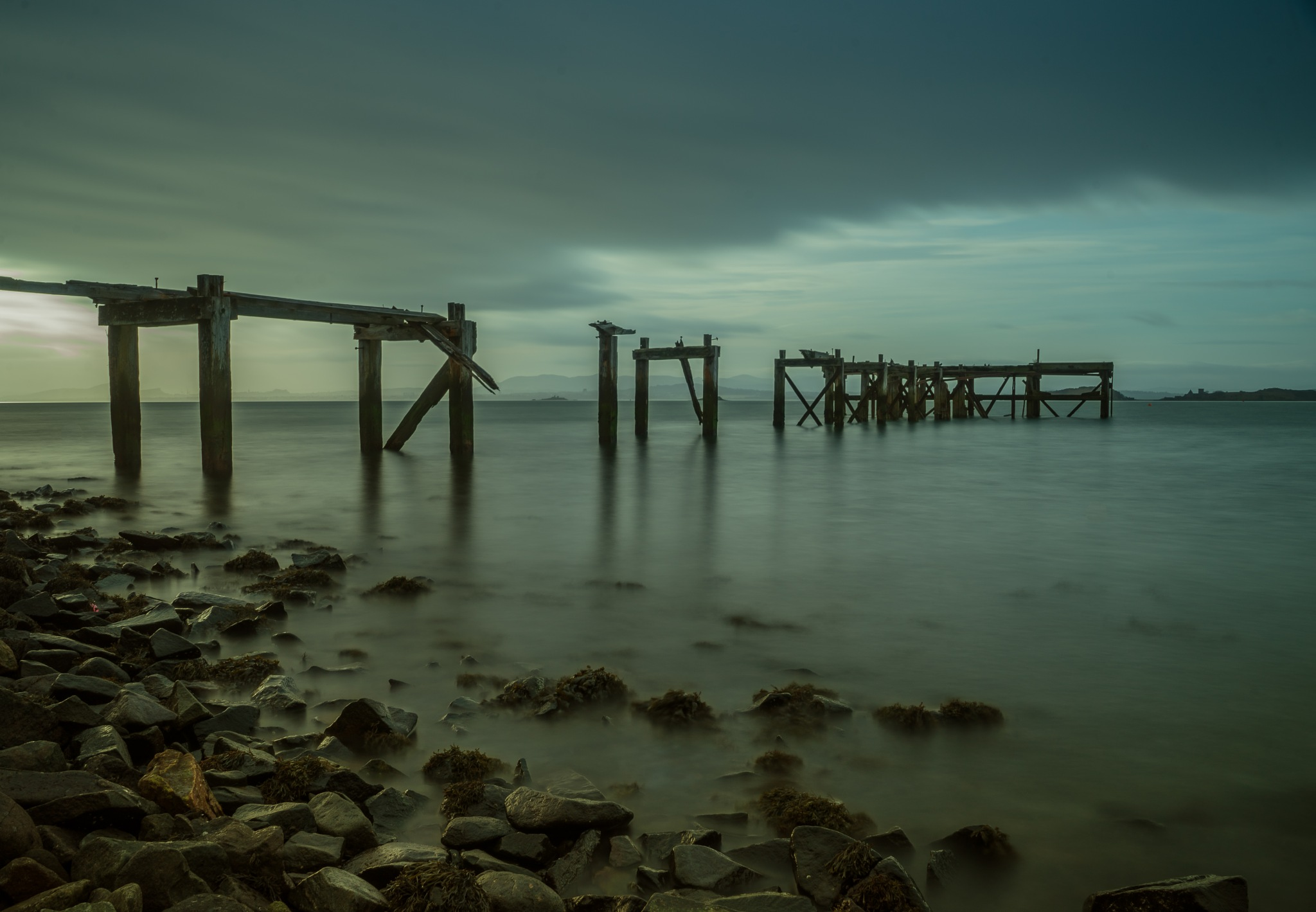 Old pier aberdour by ⭐️✈️ lee the flying scotsman 🏴⭐️